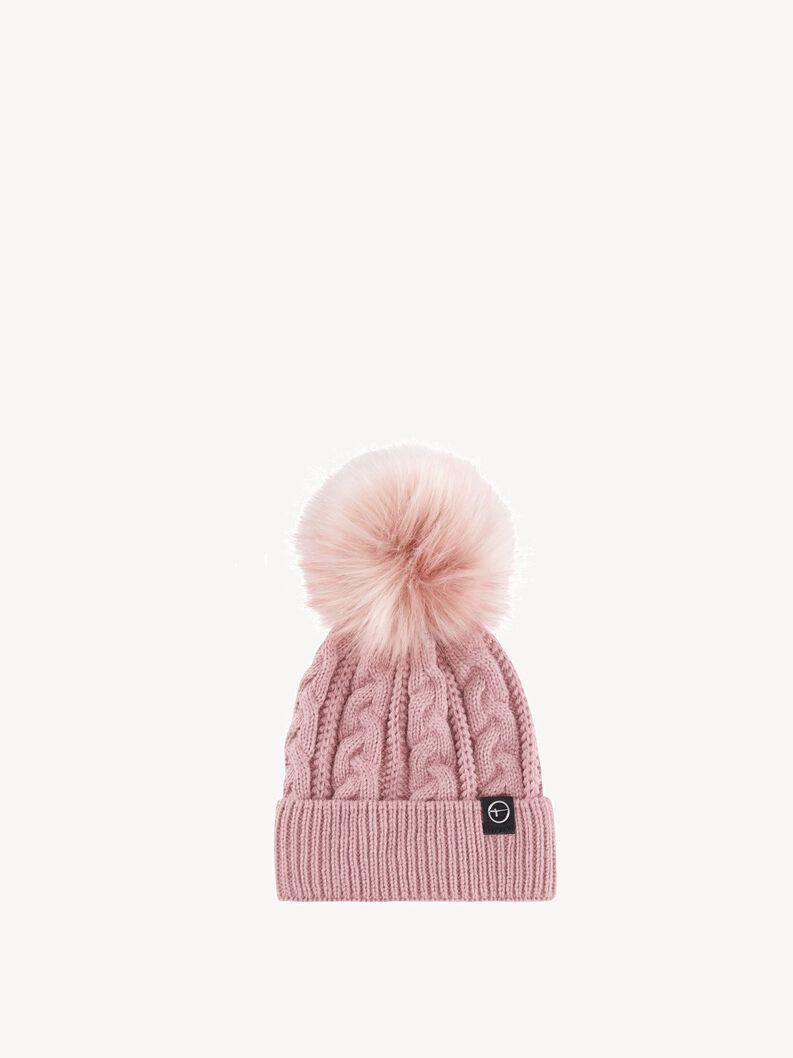 Hat - rose, oldrose, hi-res