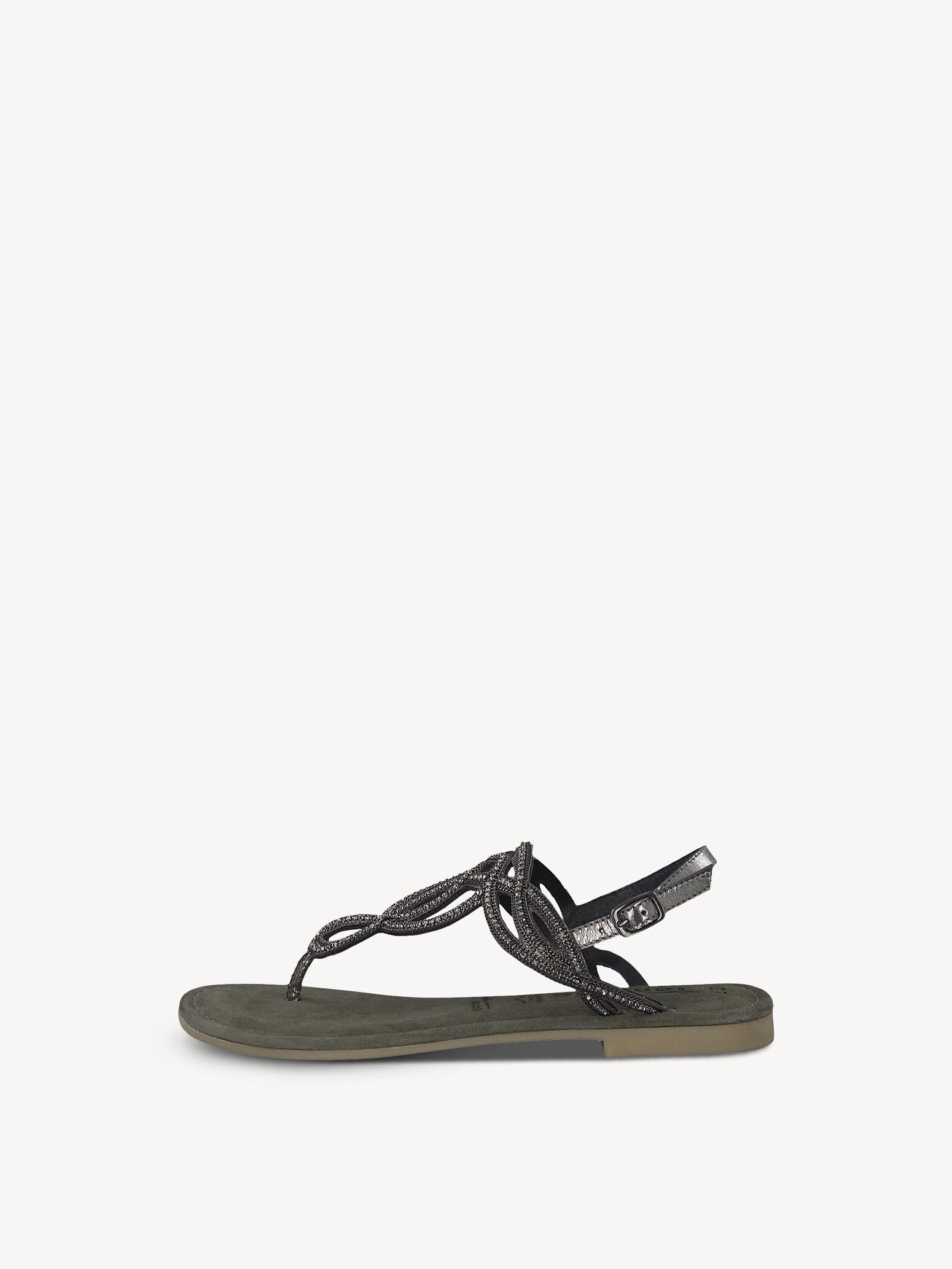 Einkaufen Tamaris Zehentrenner schwarz Damenschuhe