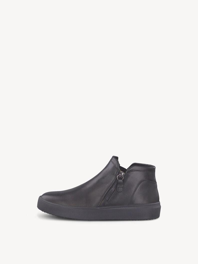 Leather Sneaker - black, BLACK LEA. UNI, hi-res