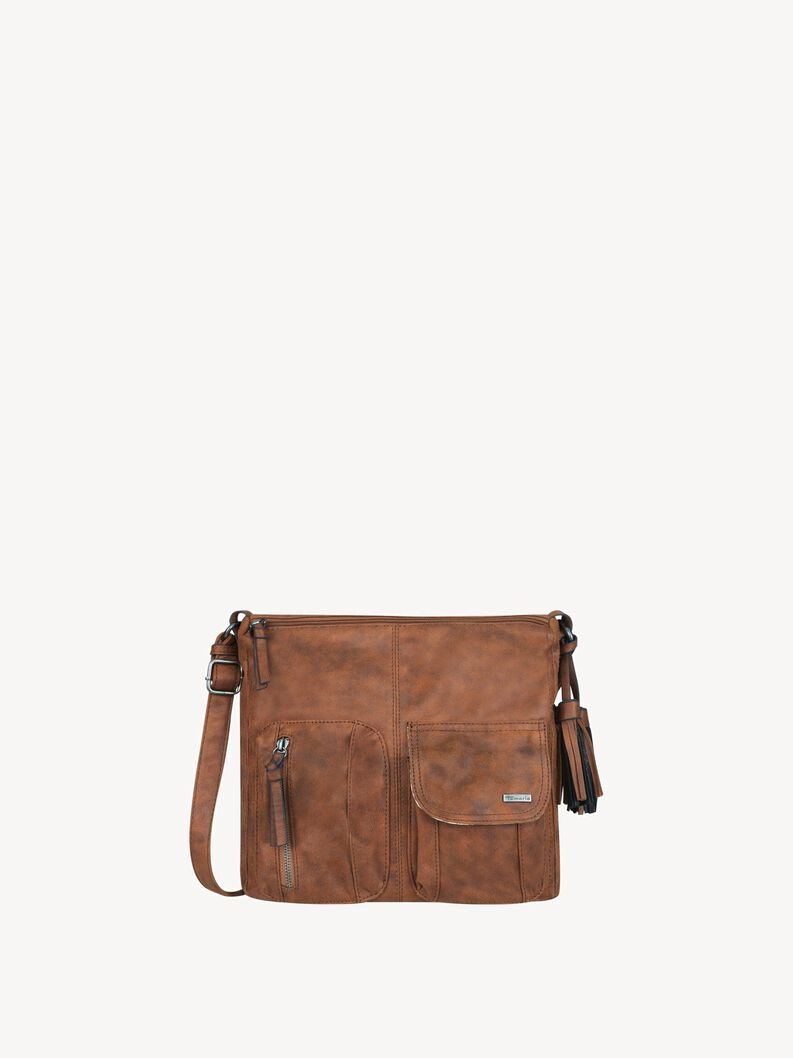 Satchel - brown, brown, hi-res