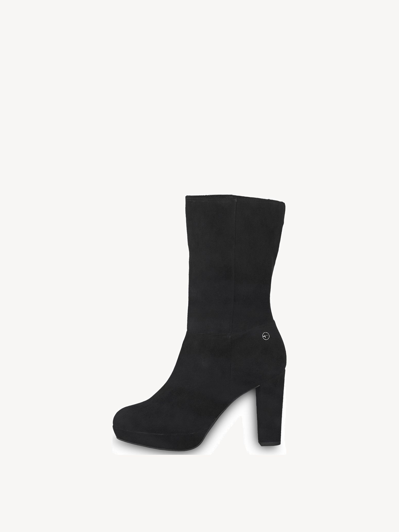 Elegante Stiefeletten von Tamaris in schwarz. Das