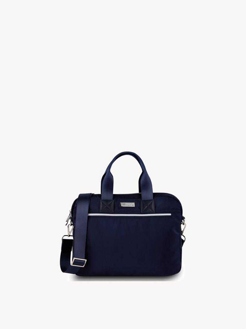 Laptoptas - blauw, navy, hi-res