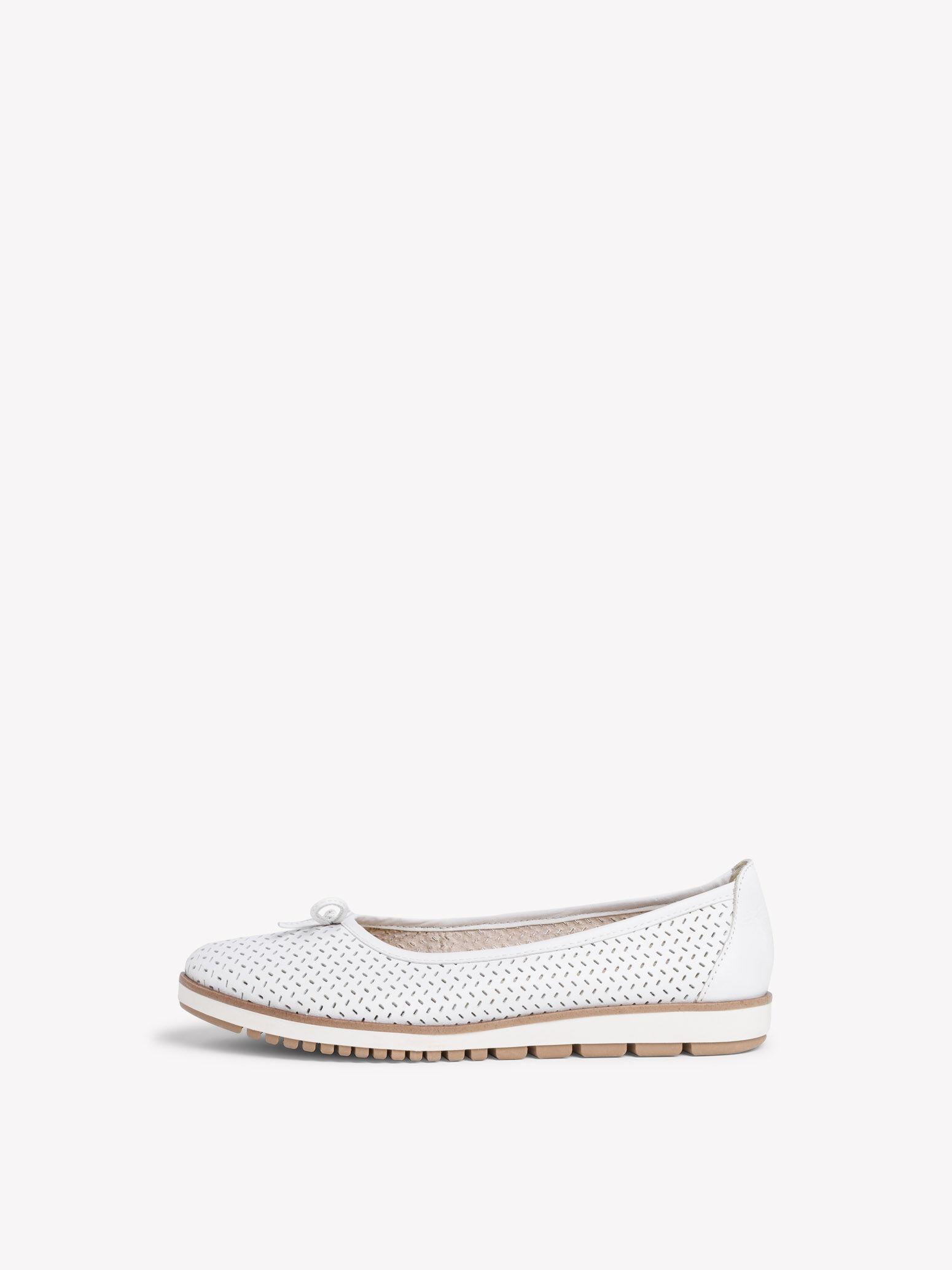 Ballerinas in weiß für Damen online kaufen Tamaris Damenschuhe