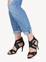 Sandaletten - zwart, BLACK, hi-res