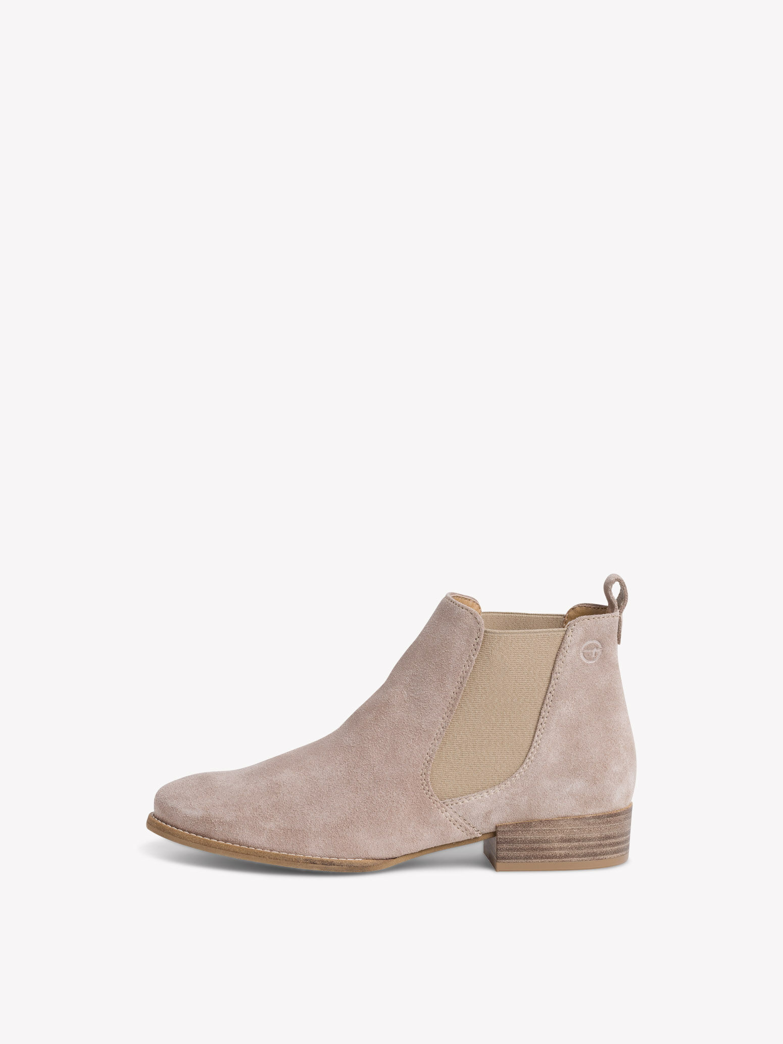 Leather Chelsea boot - beige 1-1-25315