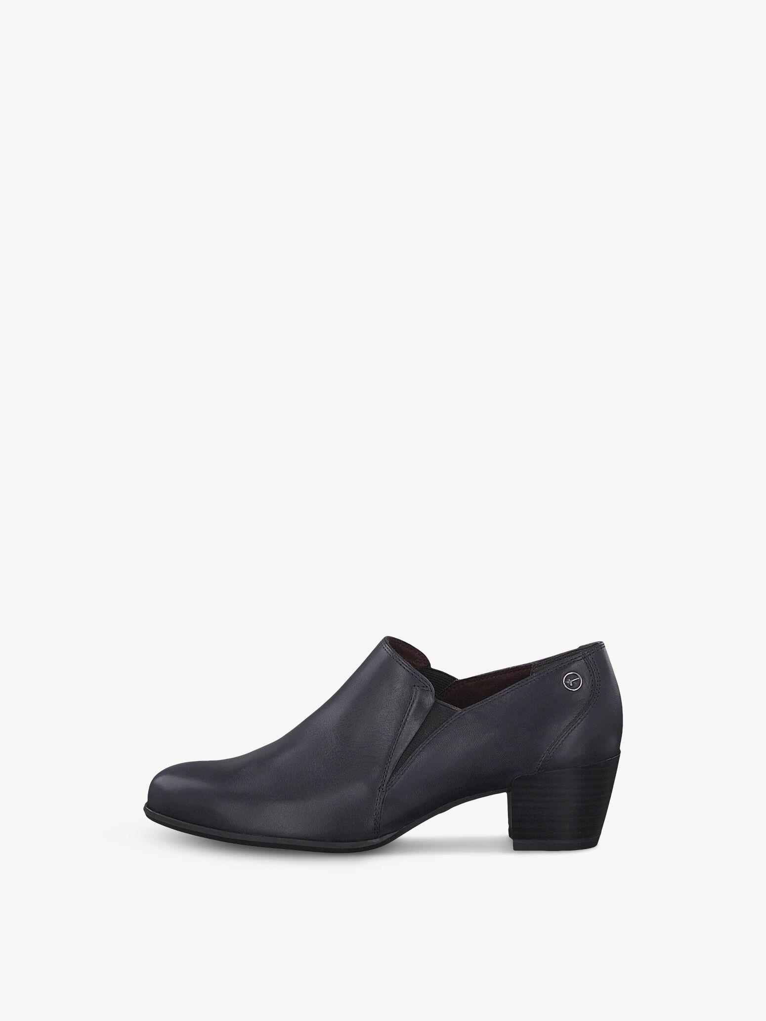 Details zu Damen Schuhe Mokassins Slipper Loafer TAMARIS Gr 39 cognac braun Leder