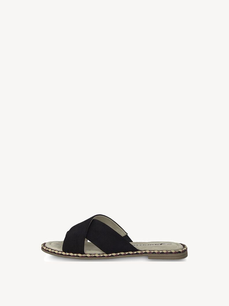 Slip-on schoen - zwart, BLACK SUEDE, hi-res