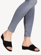 Slip-on schoen - zwart, BLACK SUEDE, hi-res