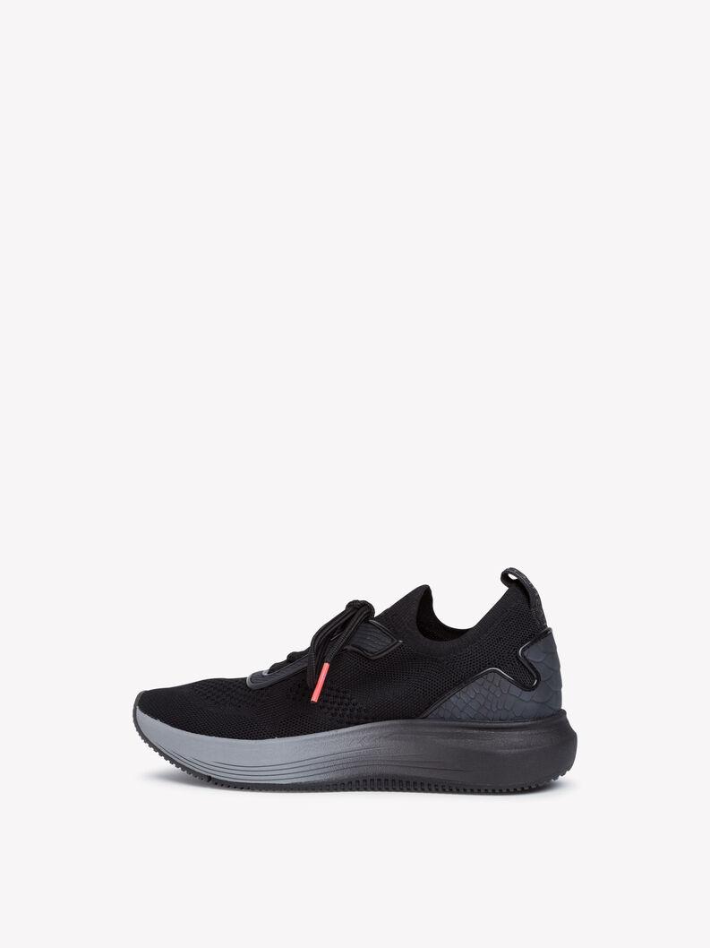 Sneaker - schwarz, BLACK, hi-res