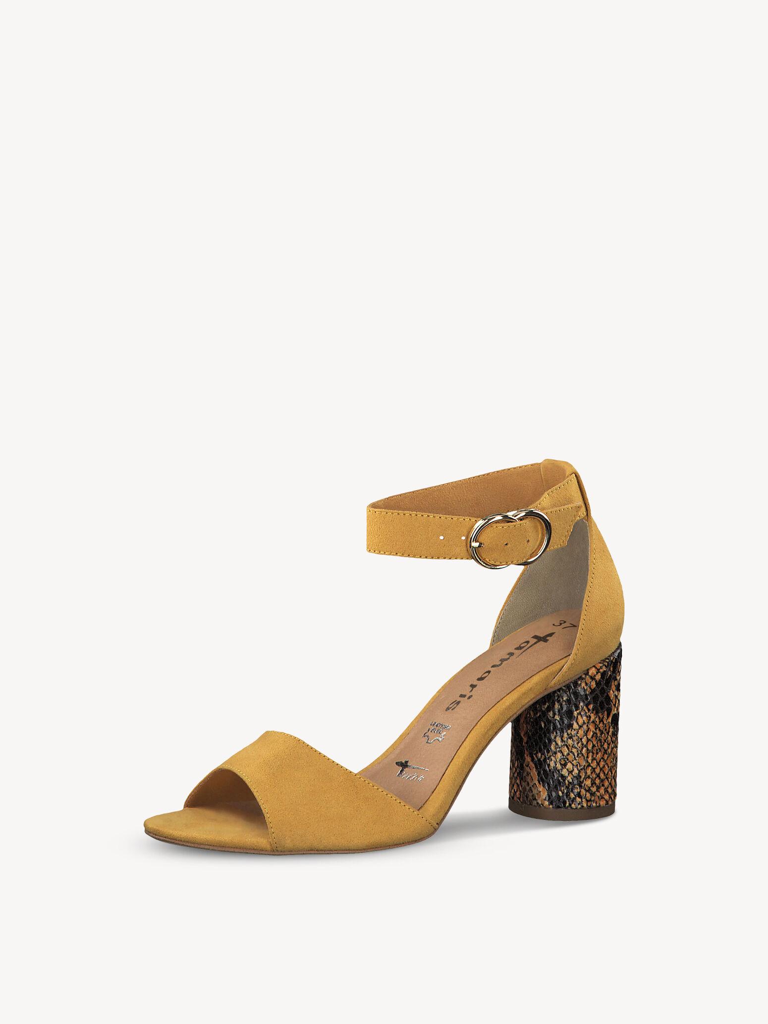 Gelbe Tamaris Sandalen online kaufen   Unverzichtbar für den