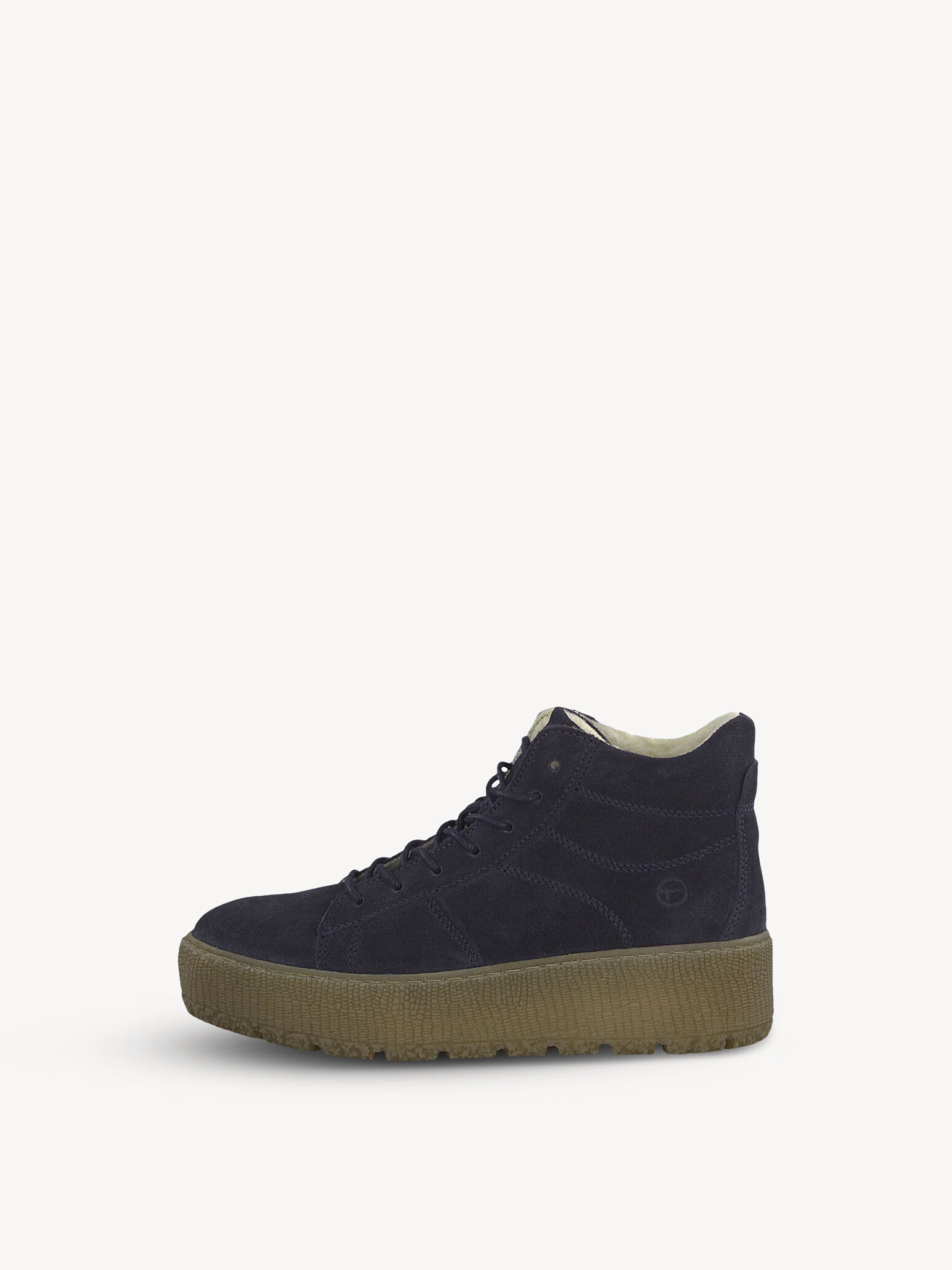 Tamaris Damen Sneaker Beige Aus Leder von Größe 36 bis 42