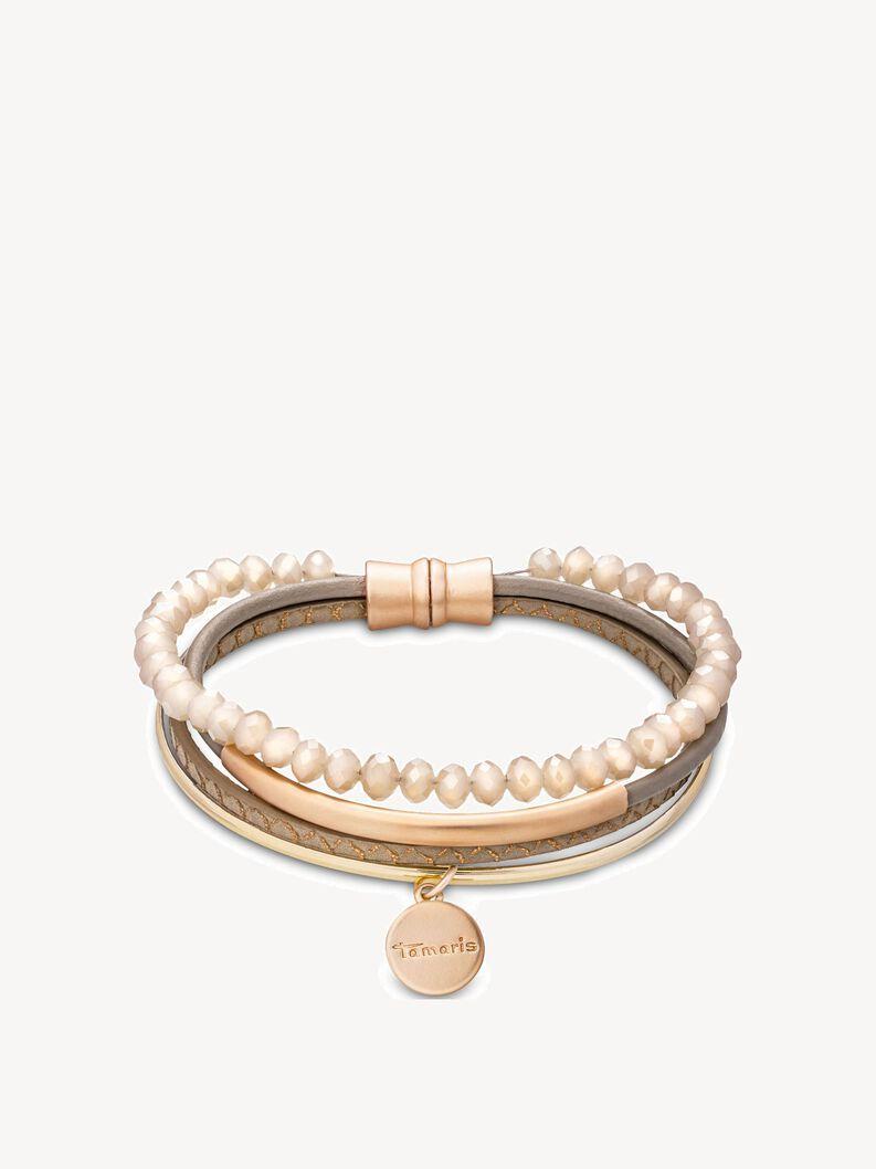 Armband - goud, gold taupe, hi-res