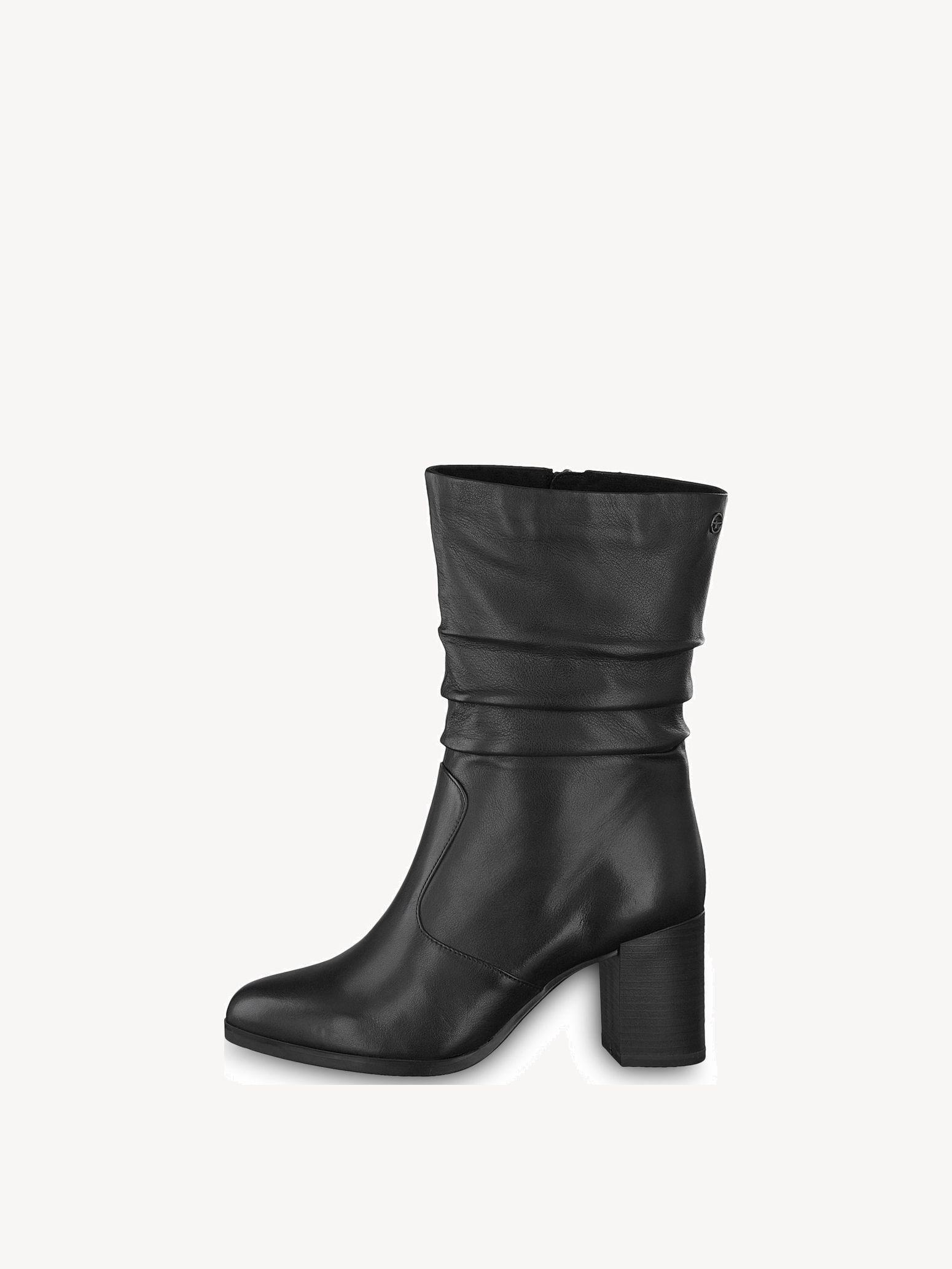 Tamaris Stiefeletten schwarz Textil classic Style Damen
