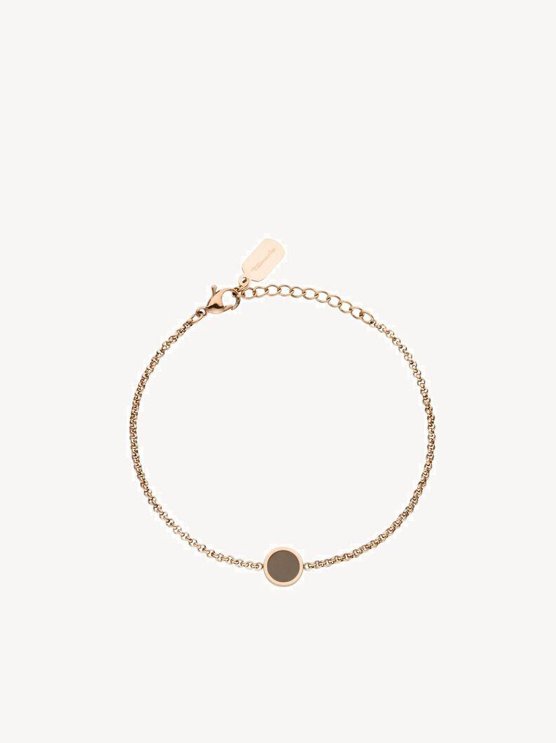 Bracelet - brown, rose taupe, hi-res
