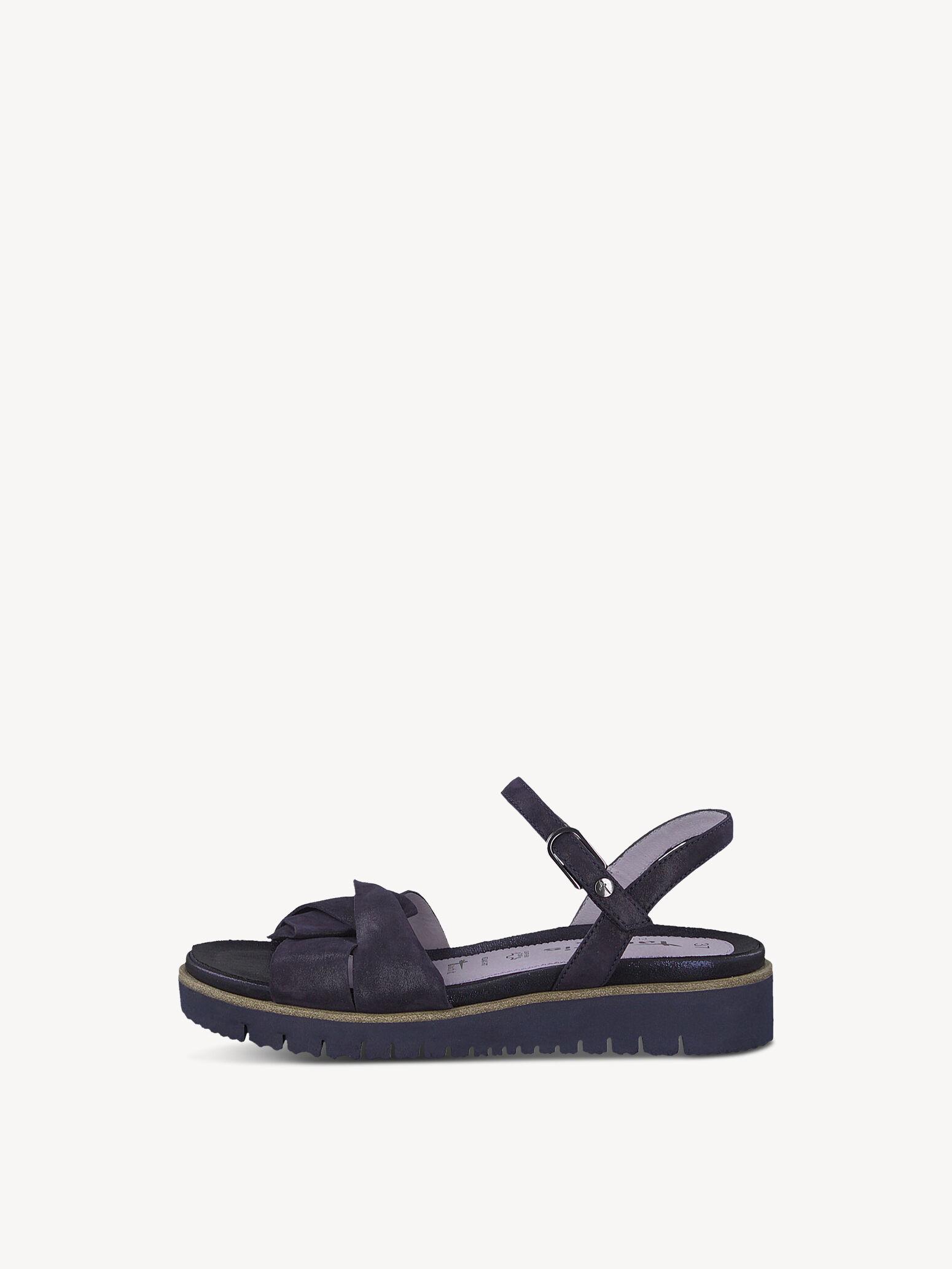 Tamaris 28327 Sandale blau metallic