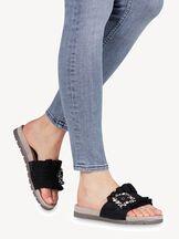 Slip-on schoen - zwart, BLACK UNI, hi-res