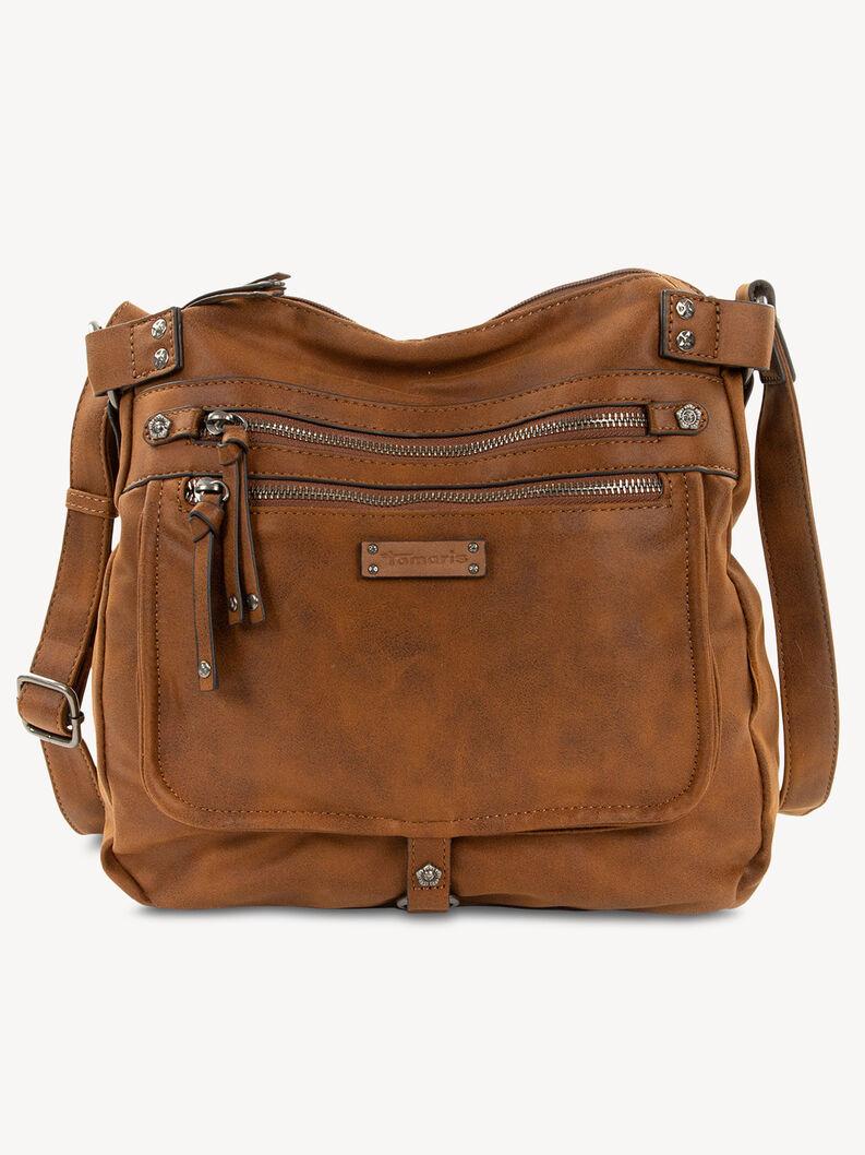 Satchel - brown, brown, hi-res