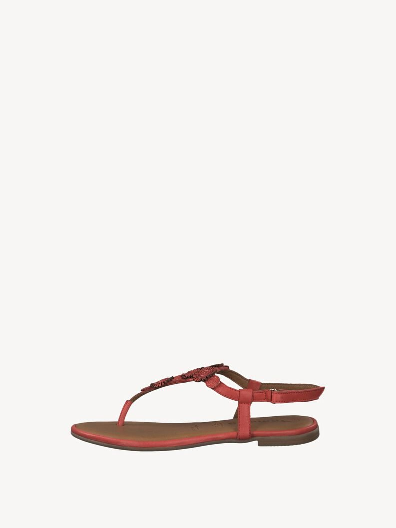 Leather Toe separators - red, RED, hi-res