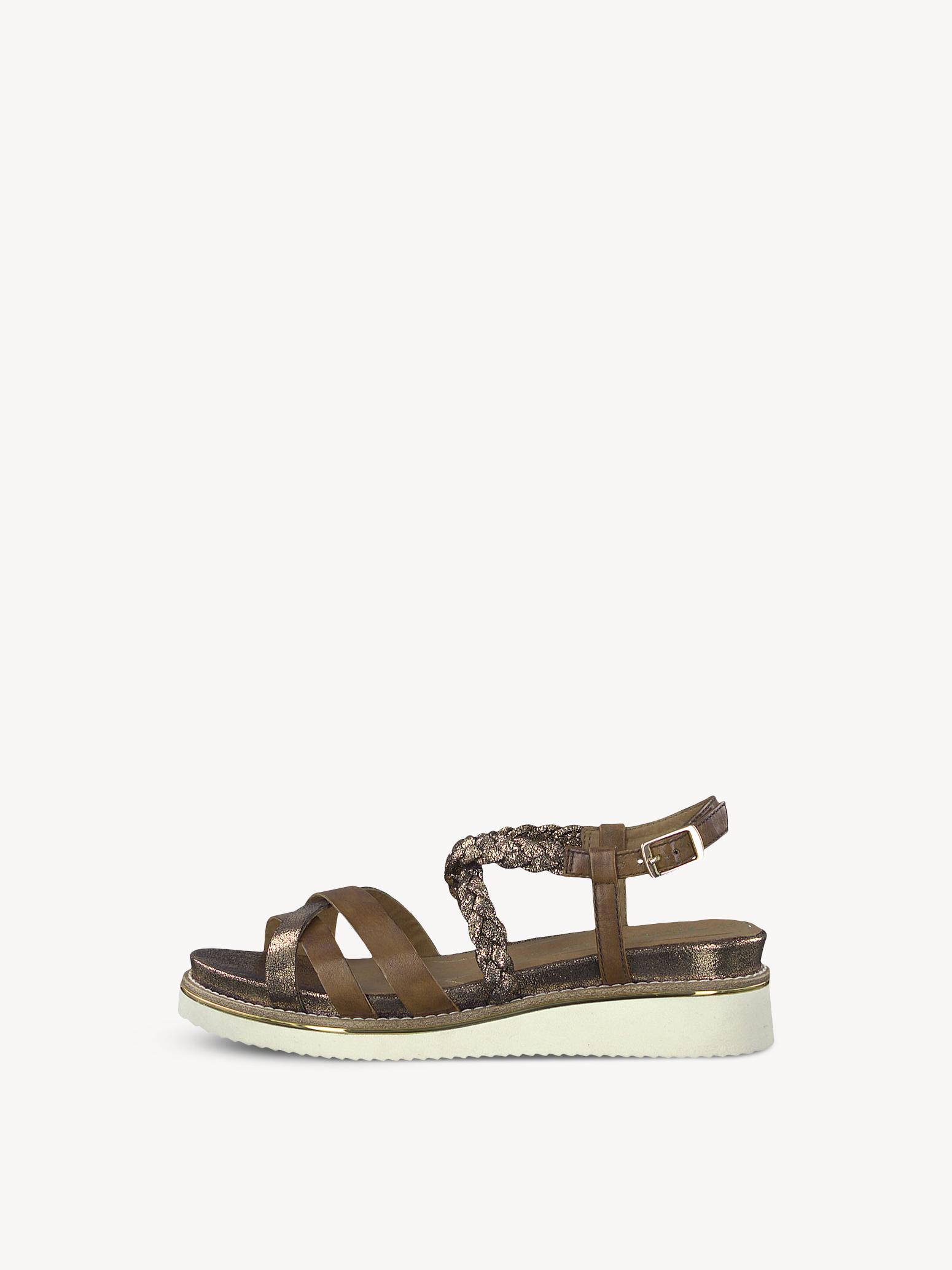Tamaris Sandale schwarz Leder 38