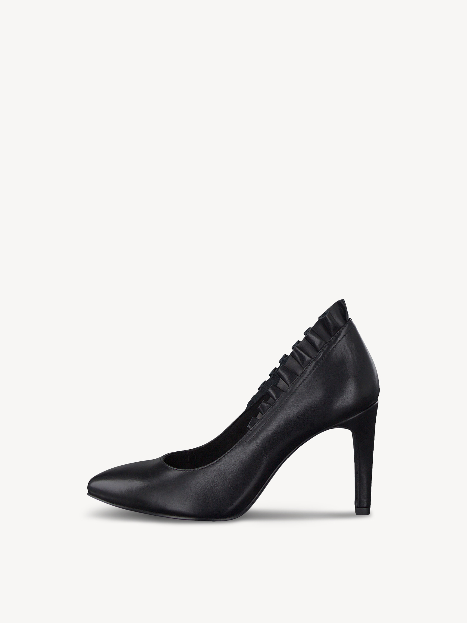 Lederpumps - schwarz, BLACK LEATHER, hi-res