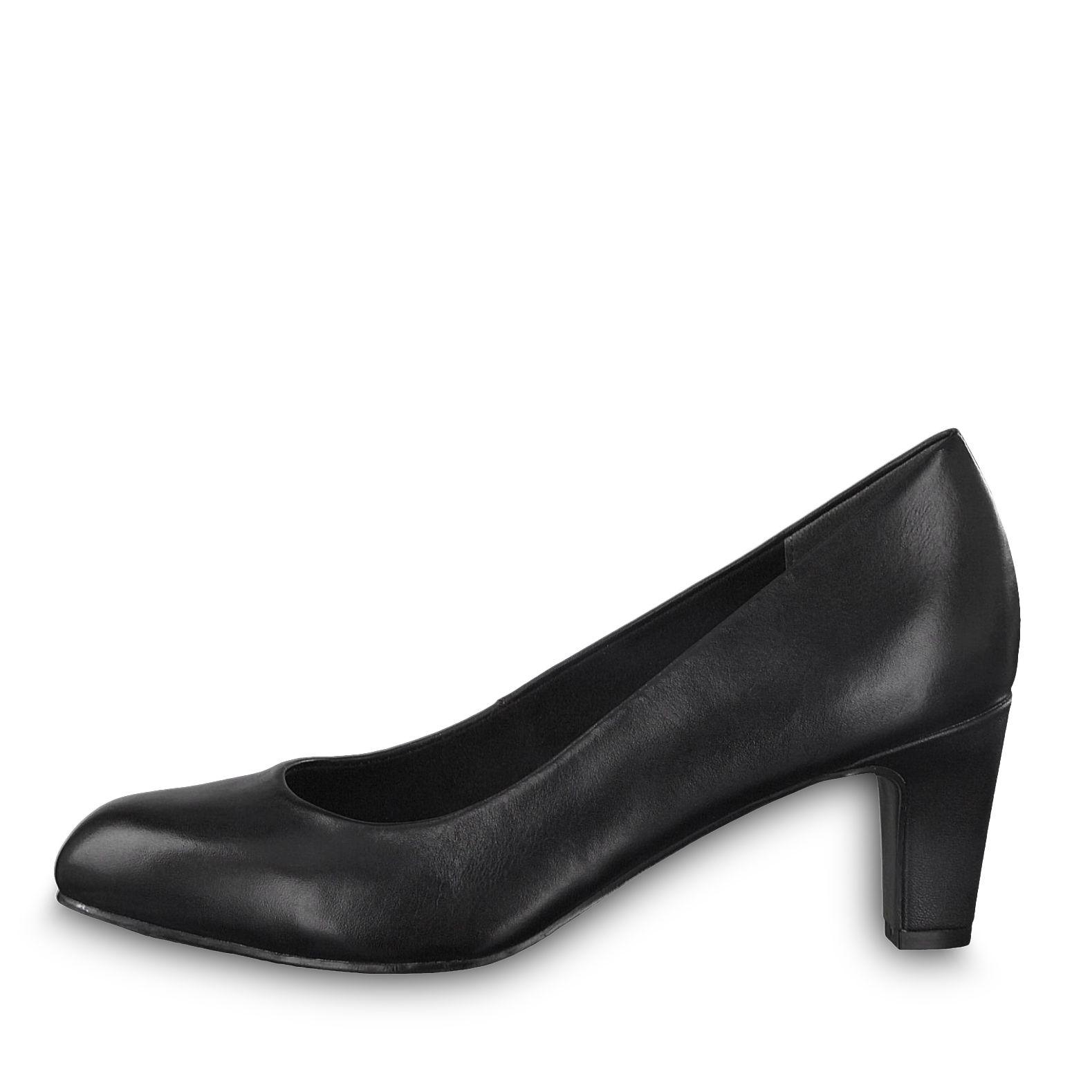 22429, Escarpins Femme, Noir (Black Uni), 39 EUTamaris