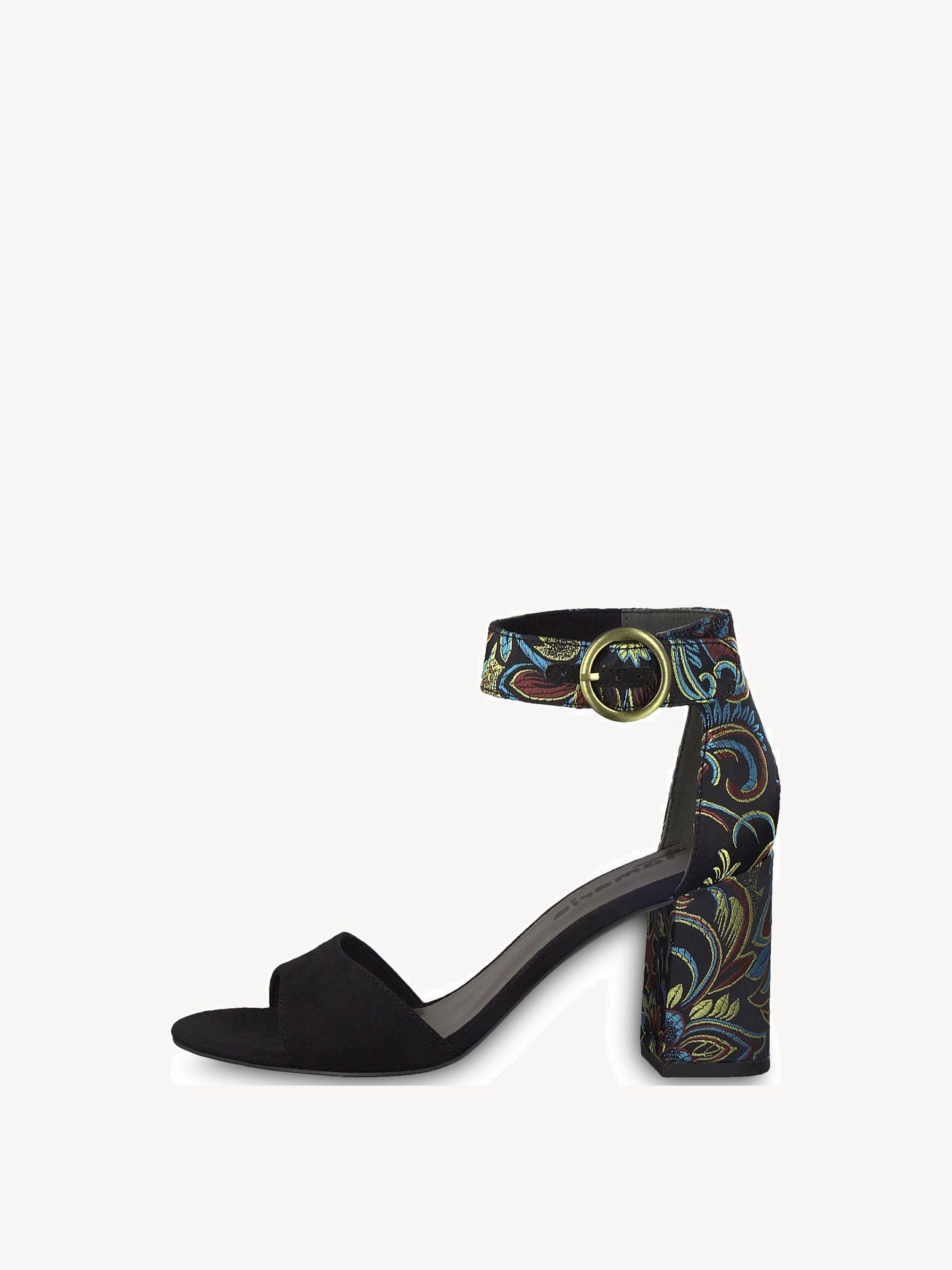 Tamaris HEITI - High heeled sandals - black