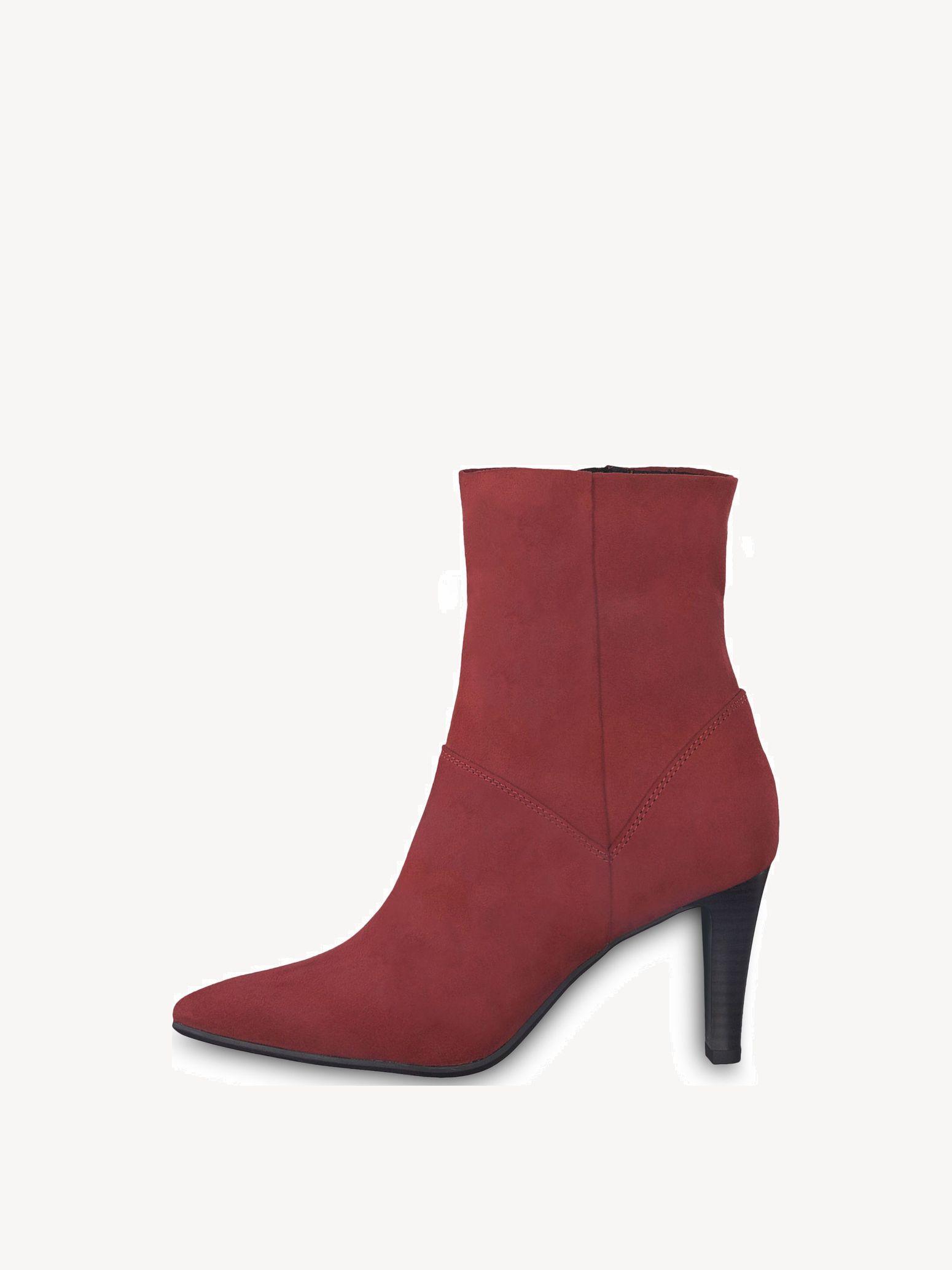 Rote Tamaris Stiefeletten & Boots günstig online kaufen
