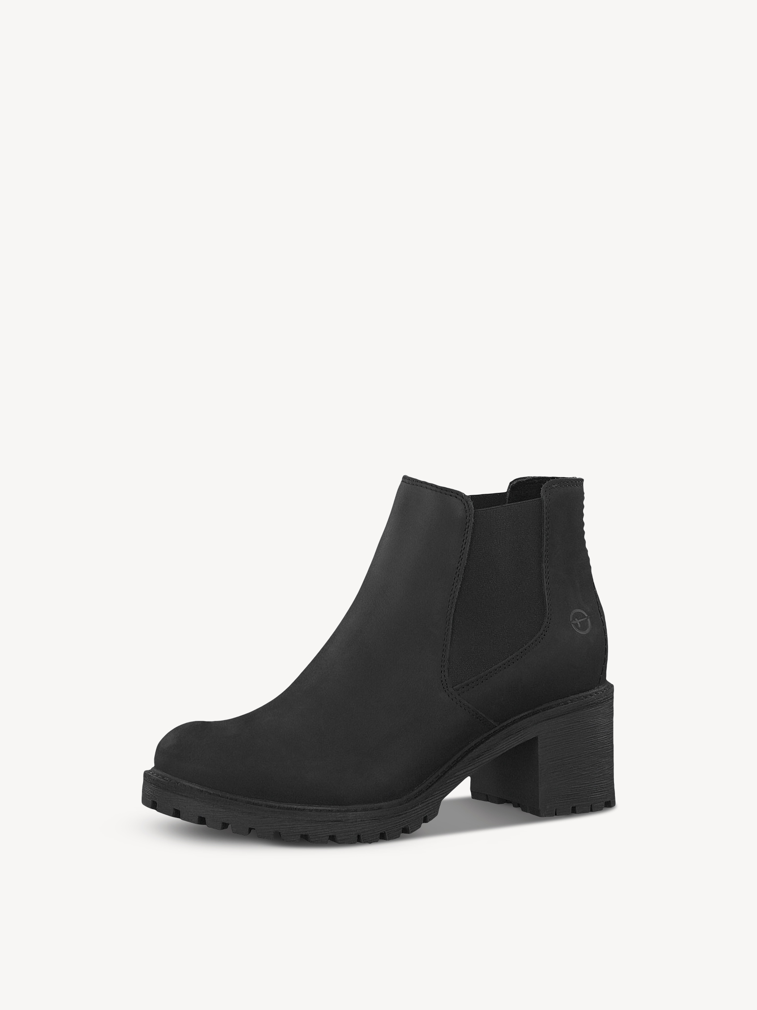 Leather Chelsea boot - black, BLACK UNI, hi-res