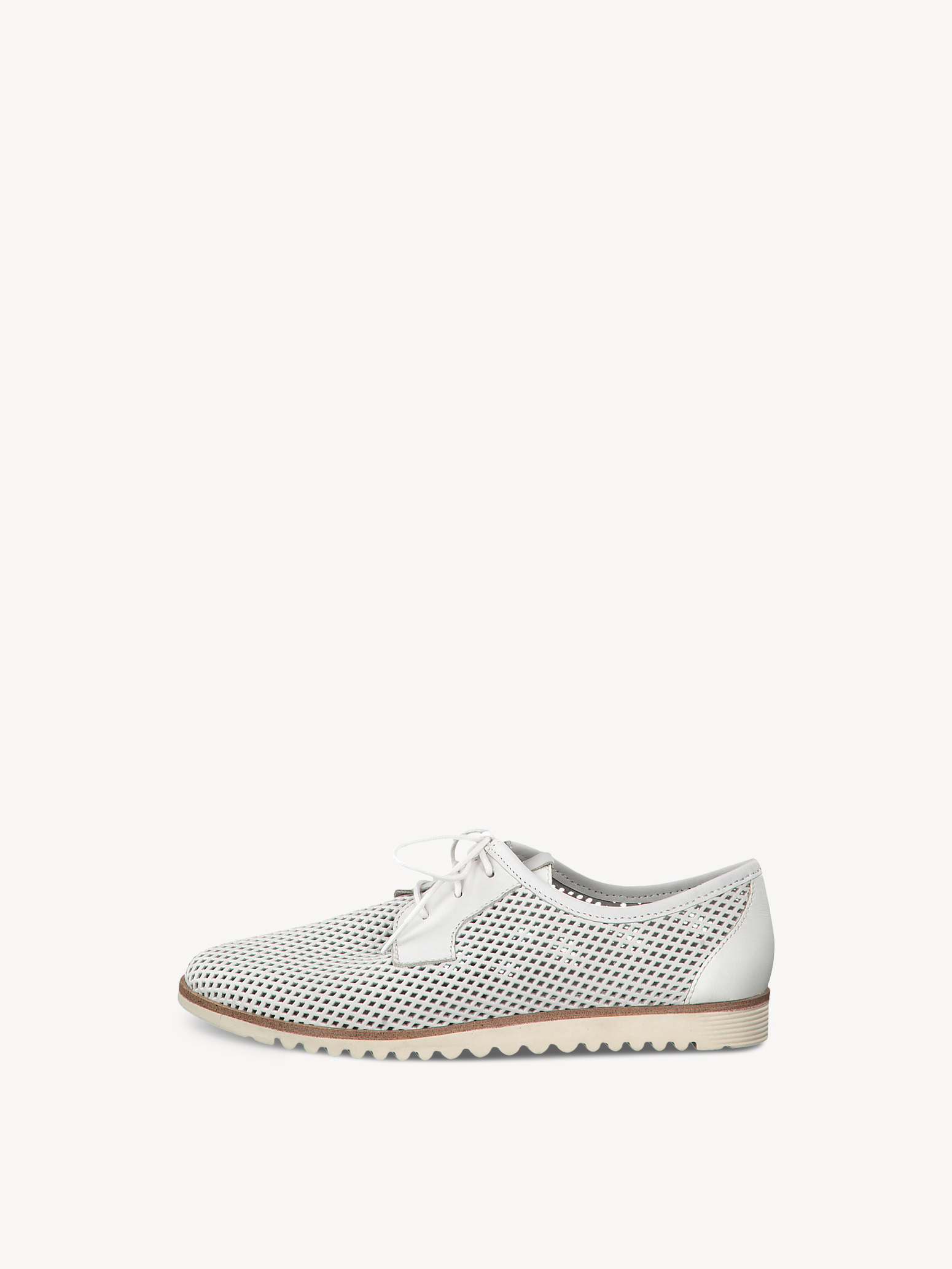 Chaussure basse en cuir