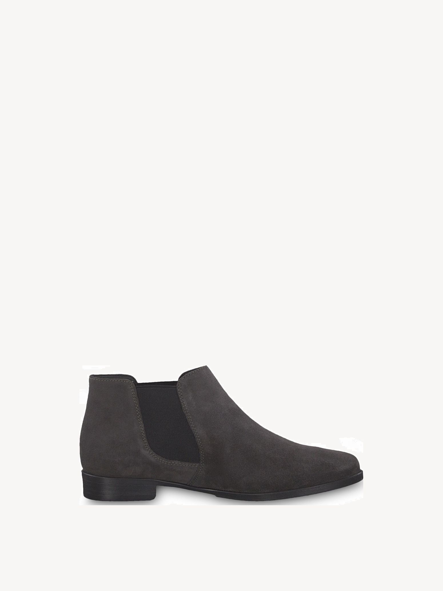 Leather Chelsea boot - grey, ANTHRACITE, hi-res