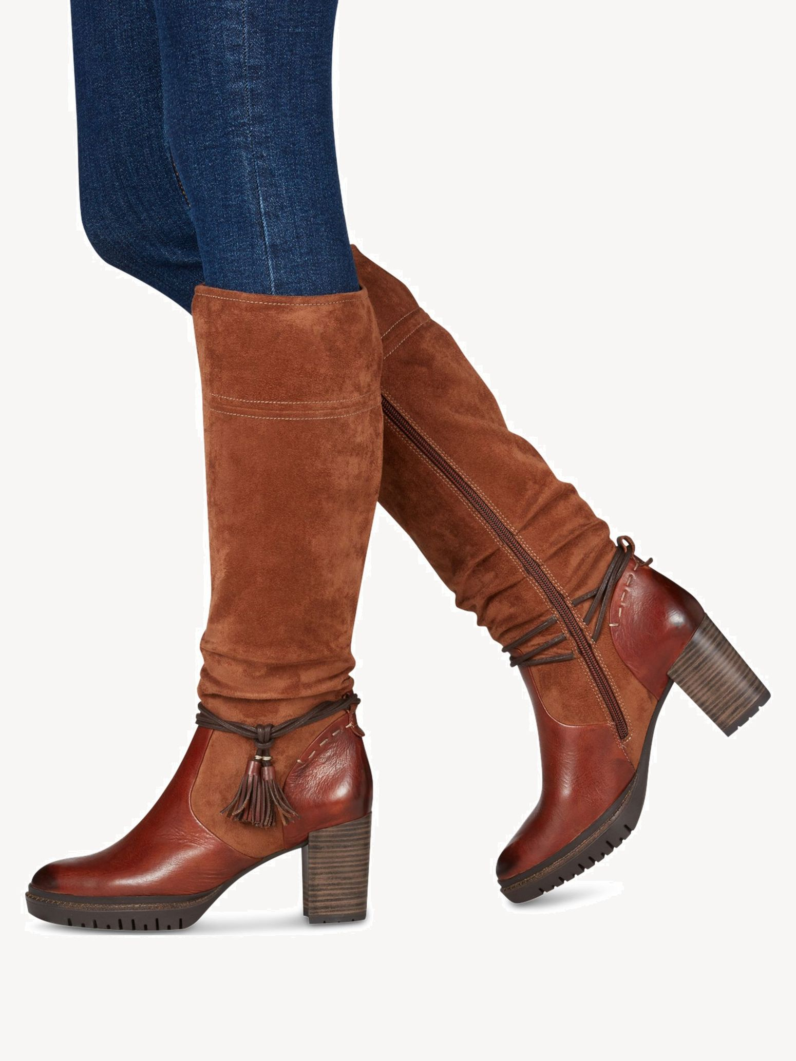 Boots - brown, COGNAC, hi-res
