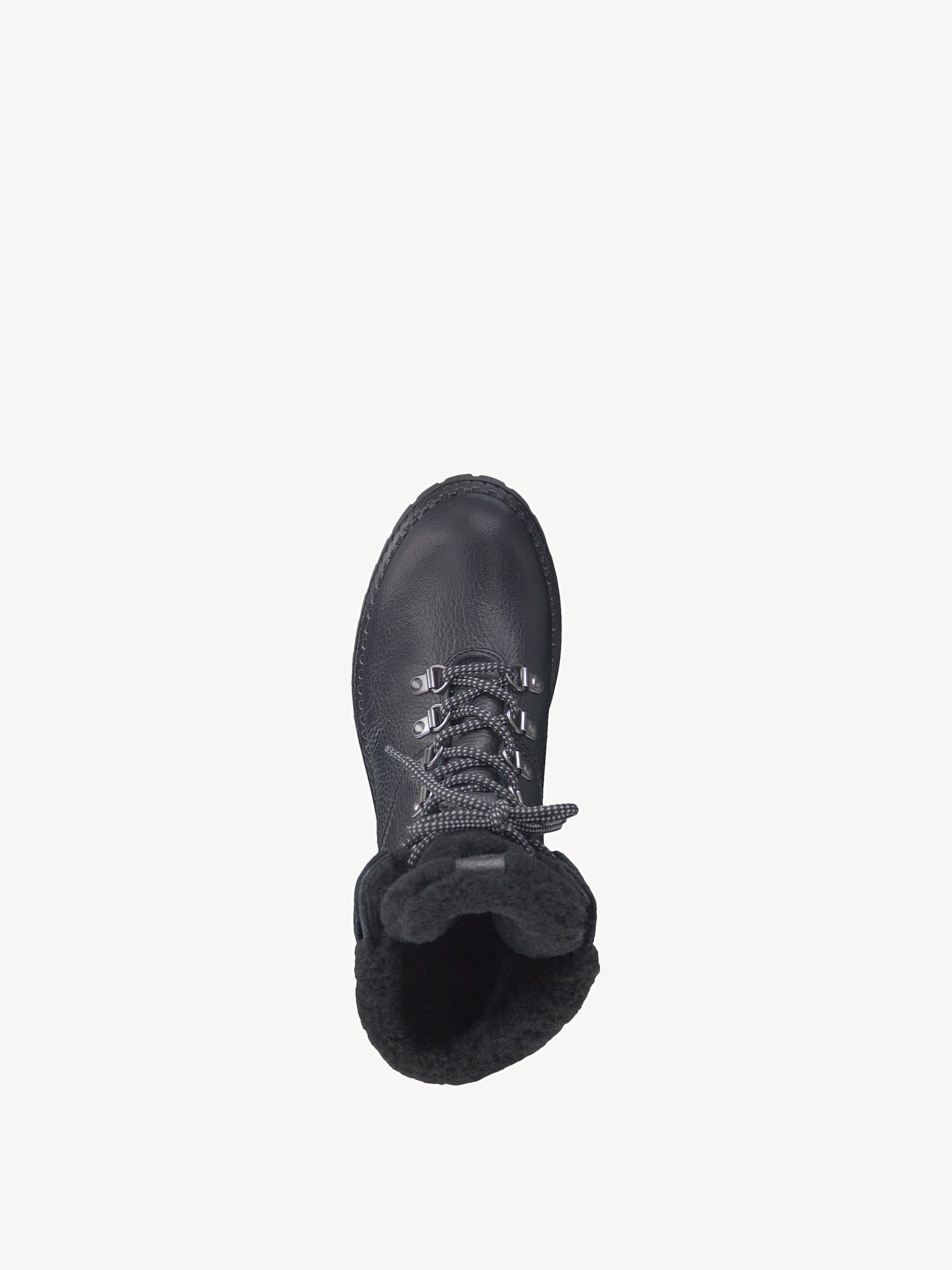 Leather Bootie - black, BLACK LEA. UNI, hi-res