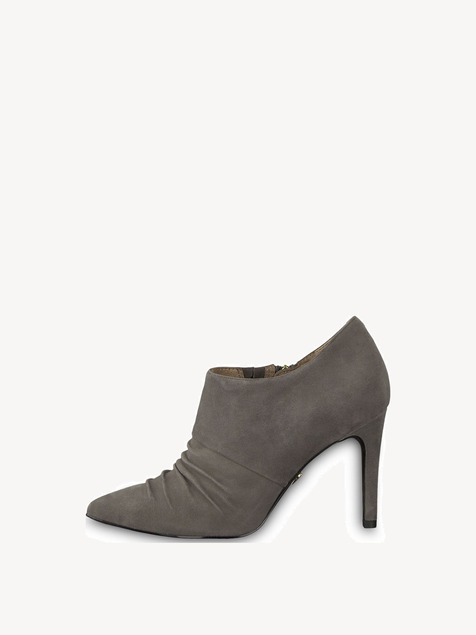 TAMARIS High Heel Stiefelette in grau | ABOUT YOU | Style