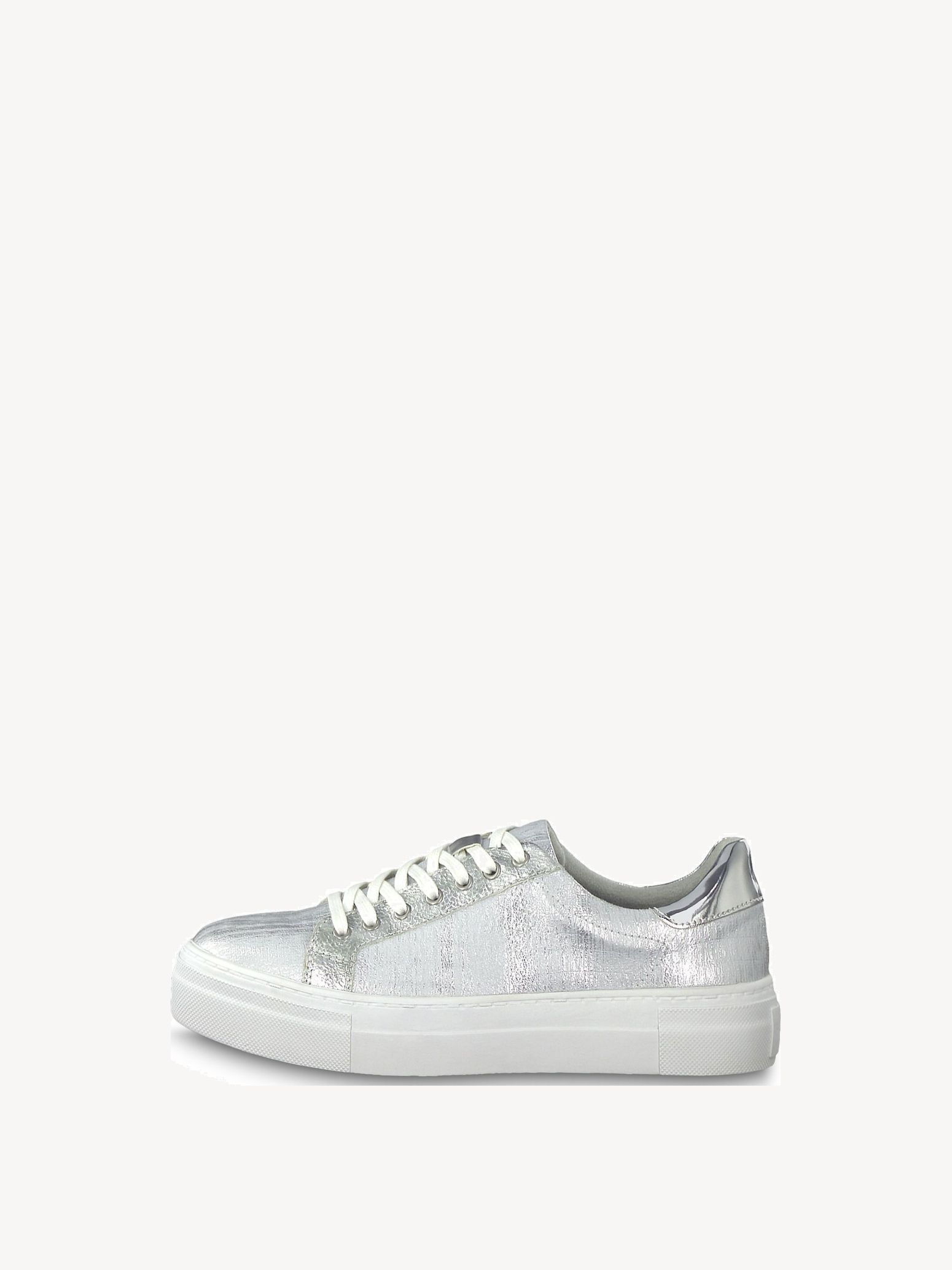 Tamaris Damen Sneaker Marras silver glam (Silber) | Modefreund Shop