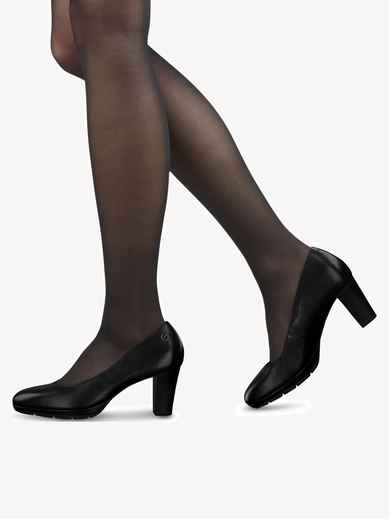 Chaussures basses TAMARIS 1 22438 21 Black Leather 003 Noir