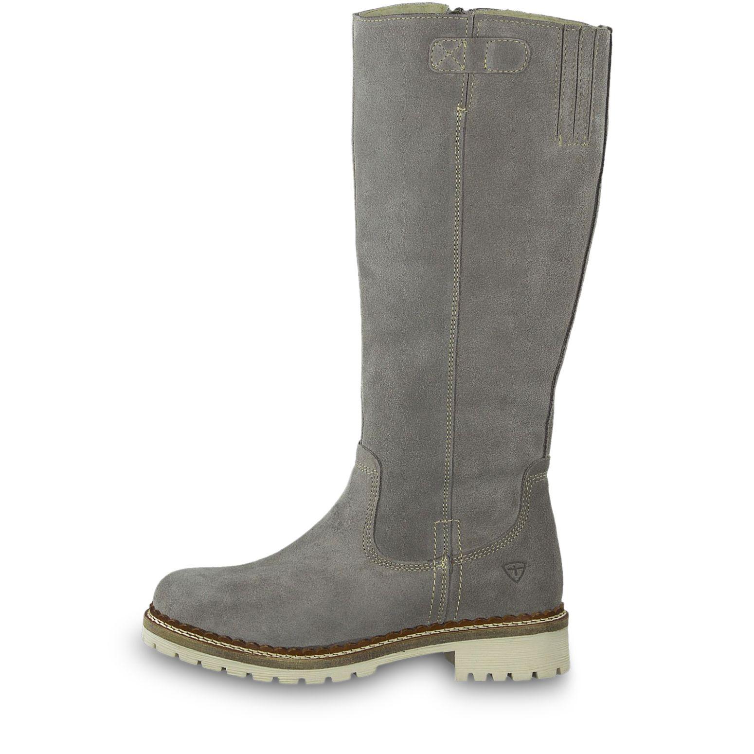 tamaris damen 26076 combat boots grau grey comb 221 38. Black Bedroom Furniture Sets. Home Design Ideas