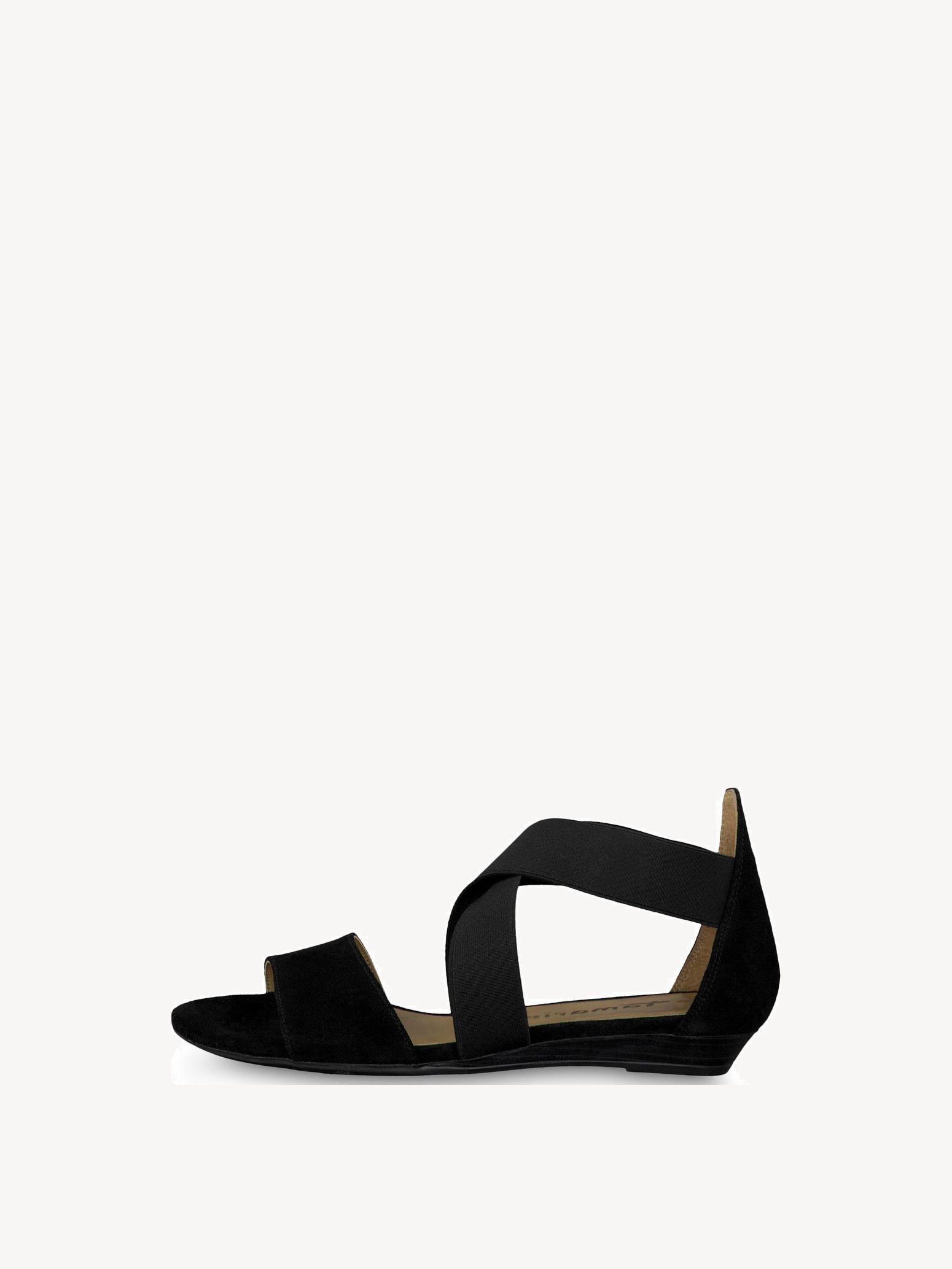 tamaris sort sandal