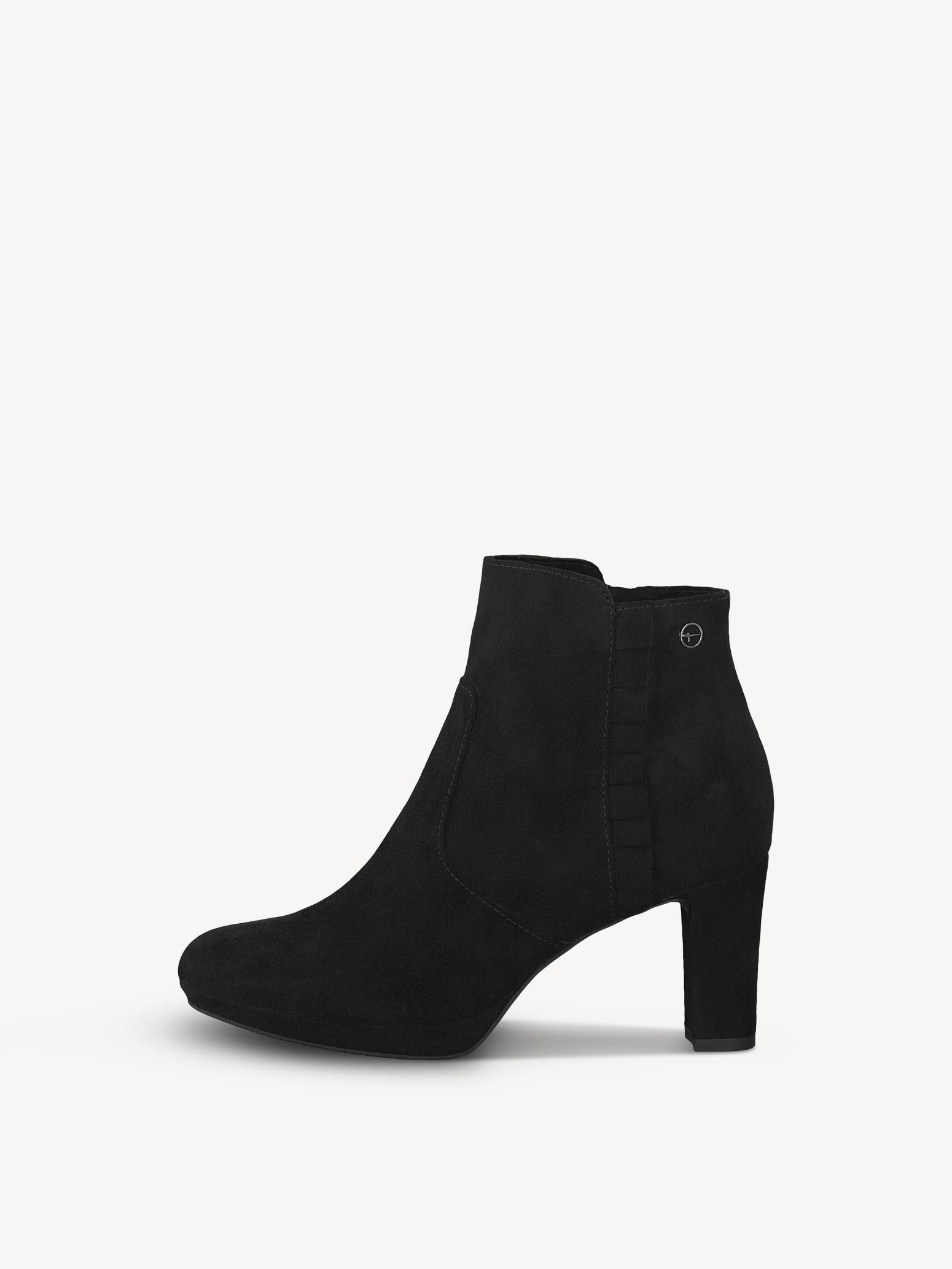Tamaris Stiefelette, schwarz auf