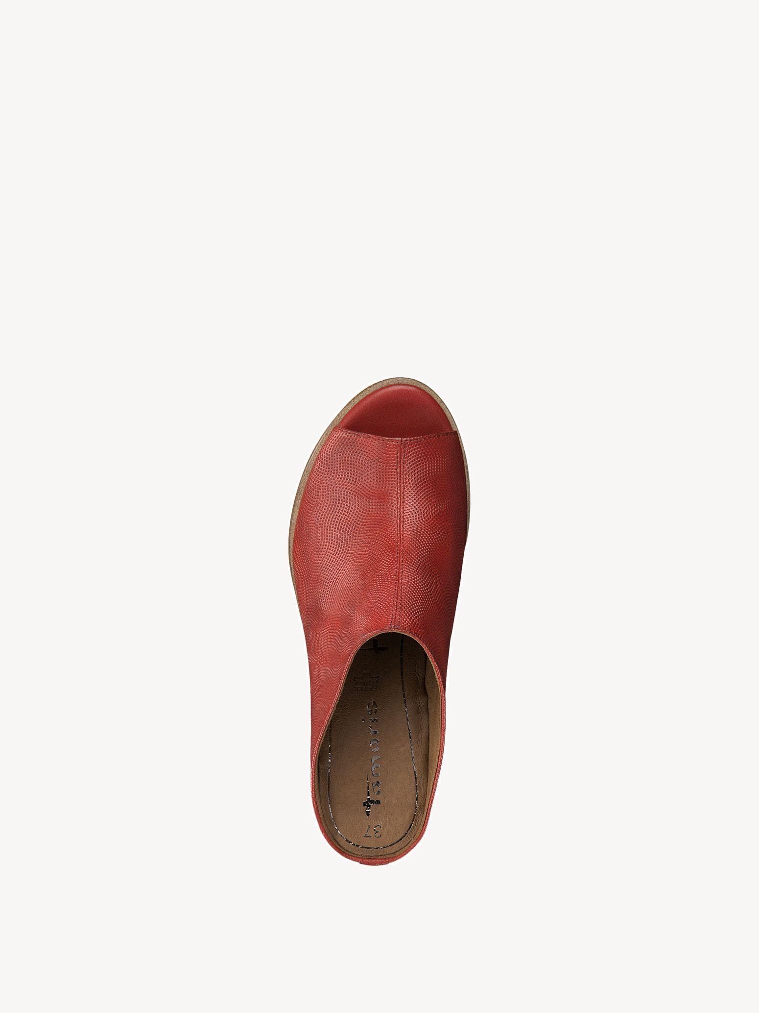 1 27200 Kaufen Lederpantolette Pantoletten 1 22Tamaris Online EH29DIW