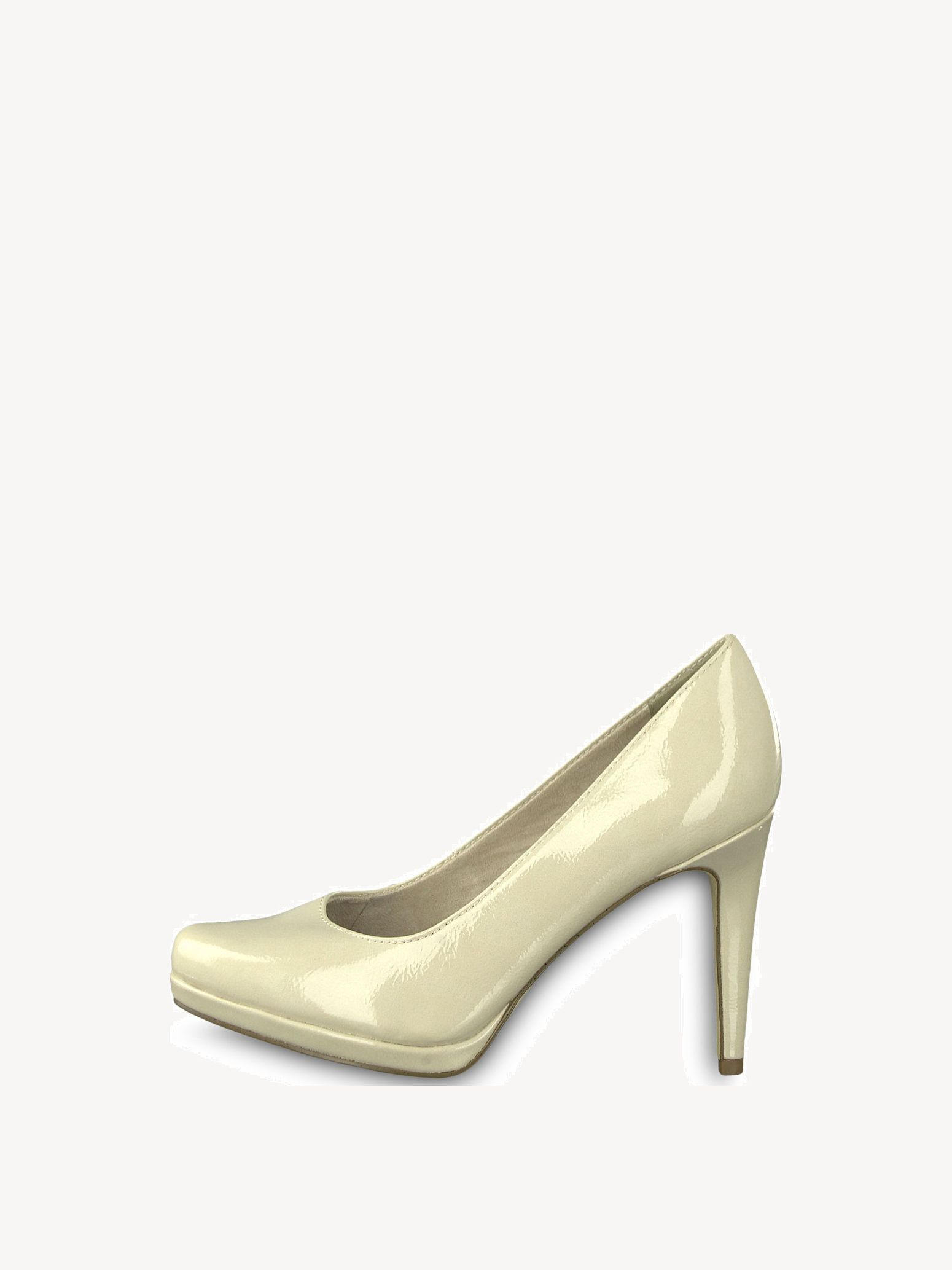 Heel Tamaris Heel Tamaris Creme High High Pumps lJTcFK1