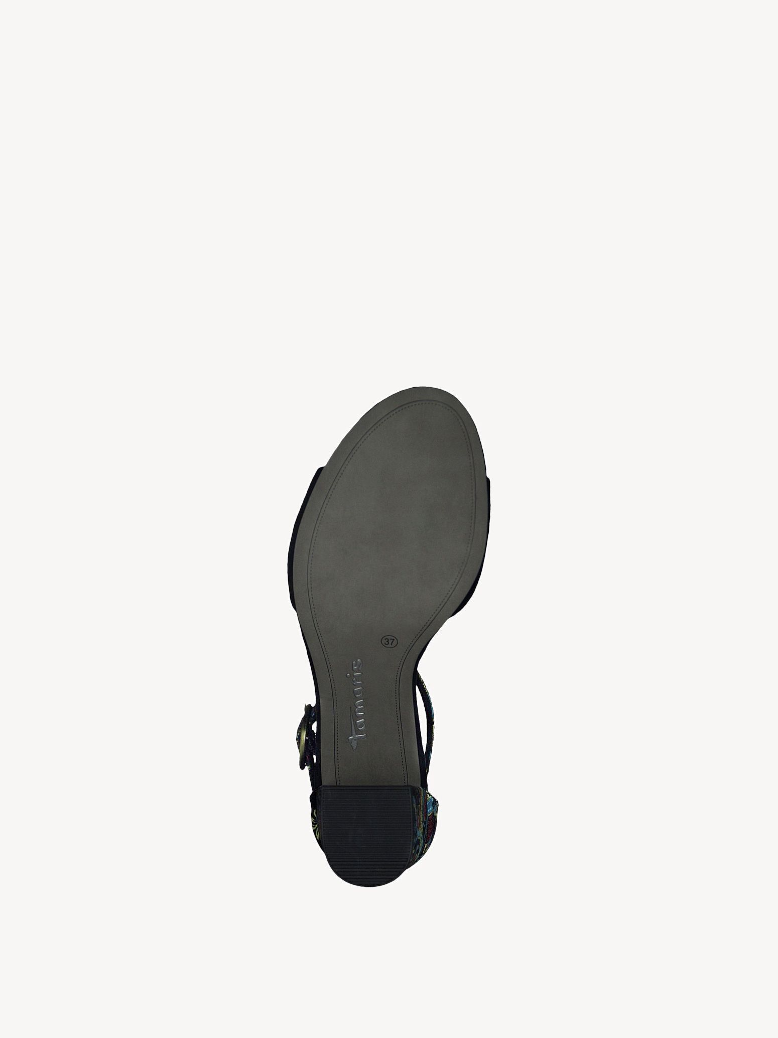 sandalette heiti tamaris black comb