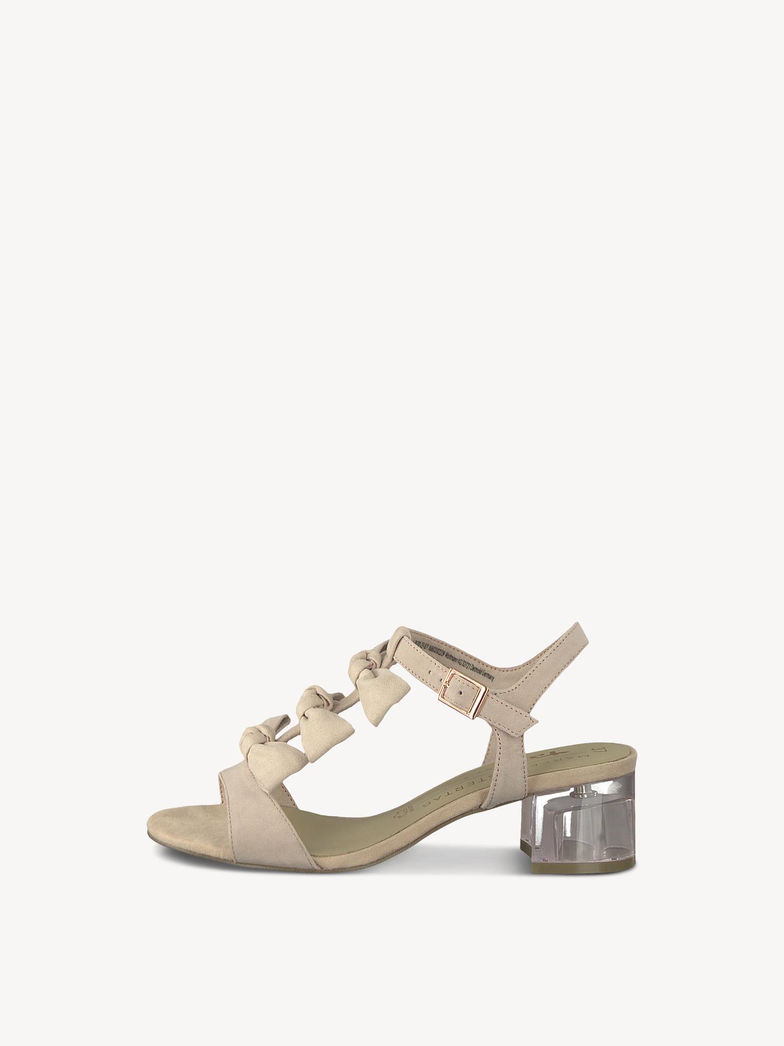 Schuhe, Sandalen Sandaletten Tamaris Gr. 39 beige rosa in