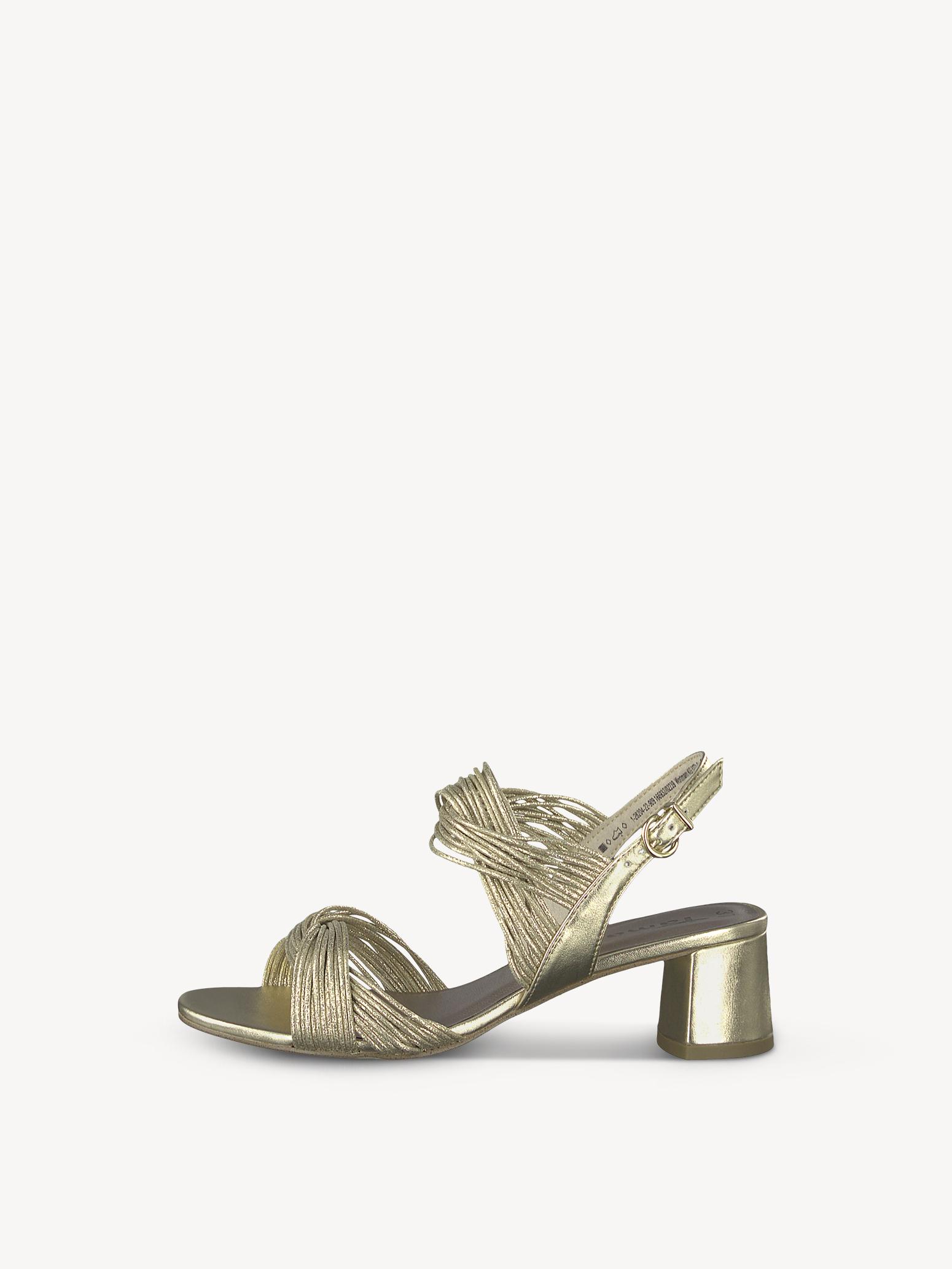 Sandaletten Klassische GoldCool Sandalen Gold Tamaris XZuPik