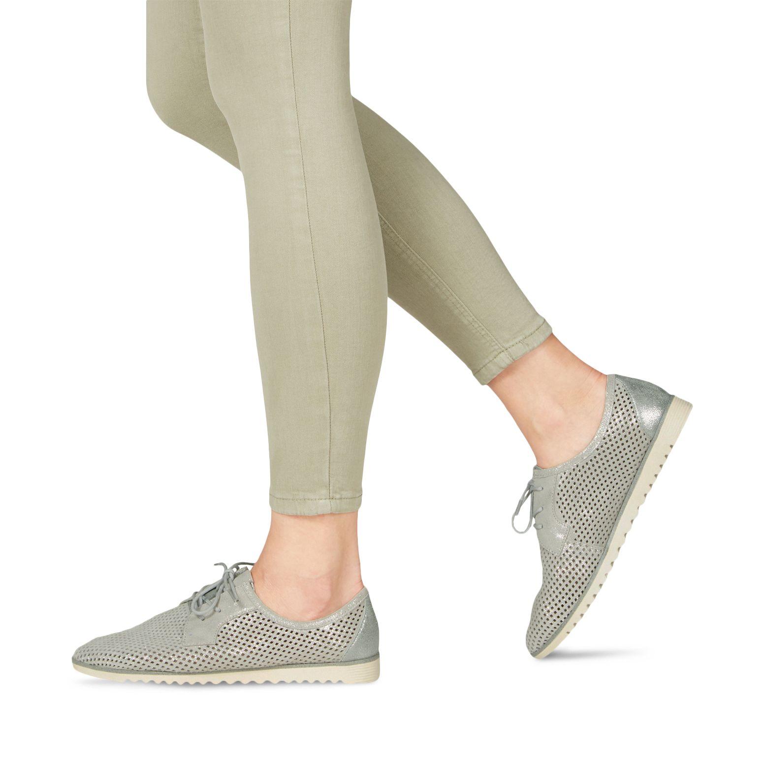 NEU: Tamaris Schnürer 1 1 23603 20 100 white | Schuhe