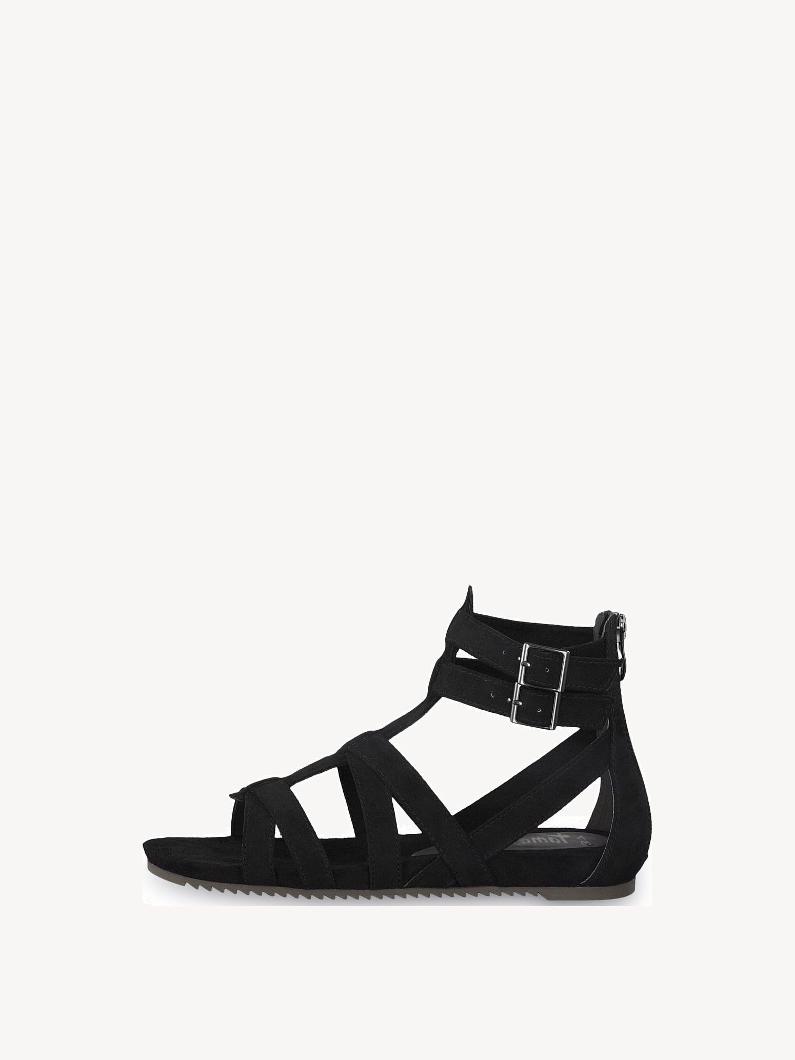 Sandales Tamaris sandales romaines avec fermeture éclair
