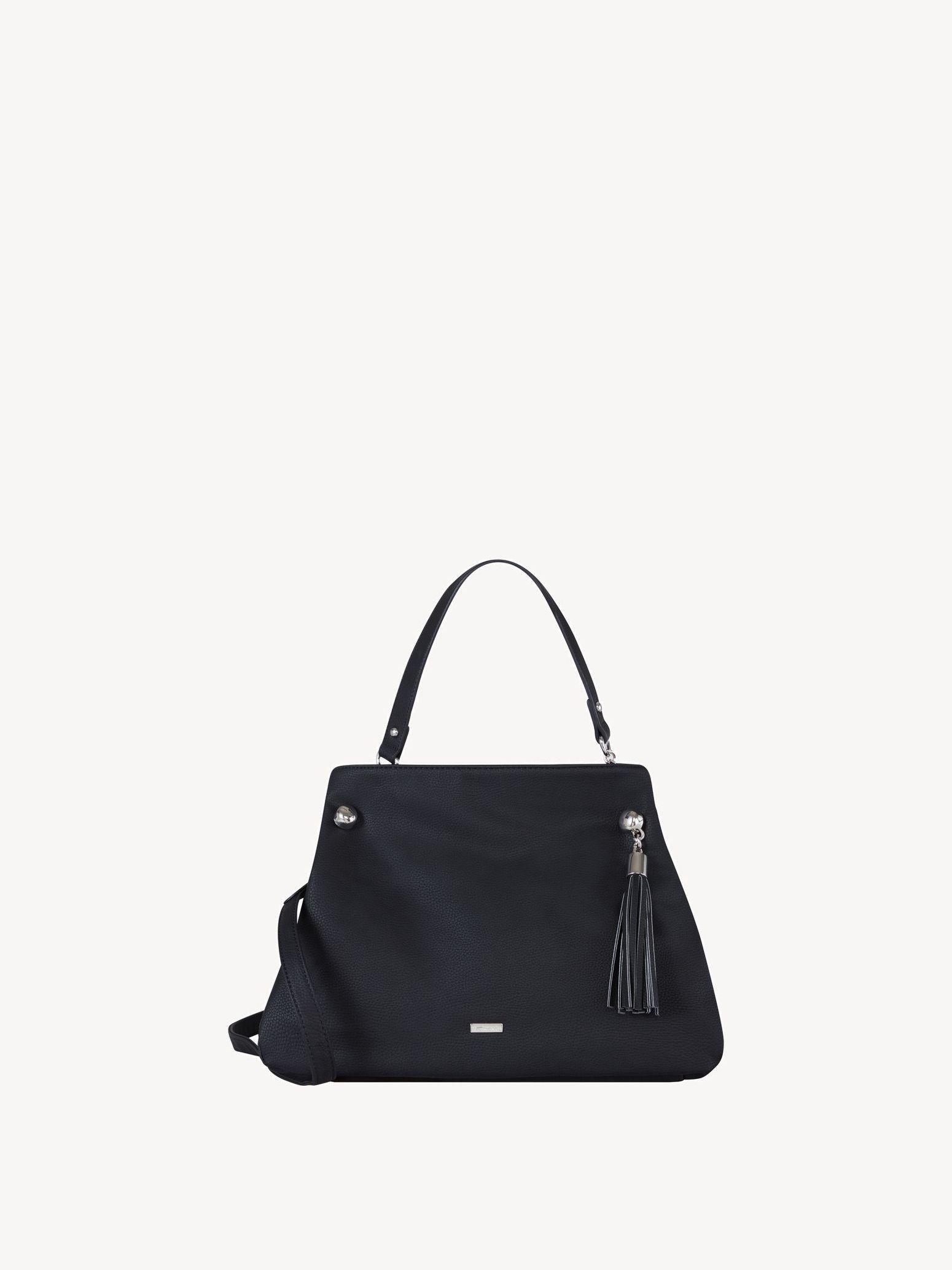 Handbag - black, black, hi-res