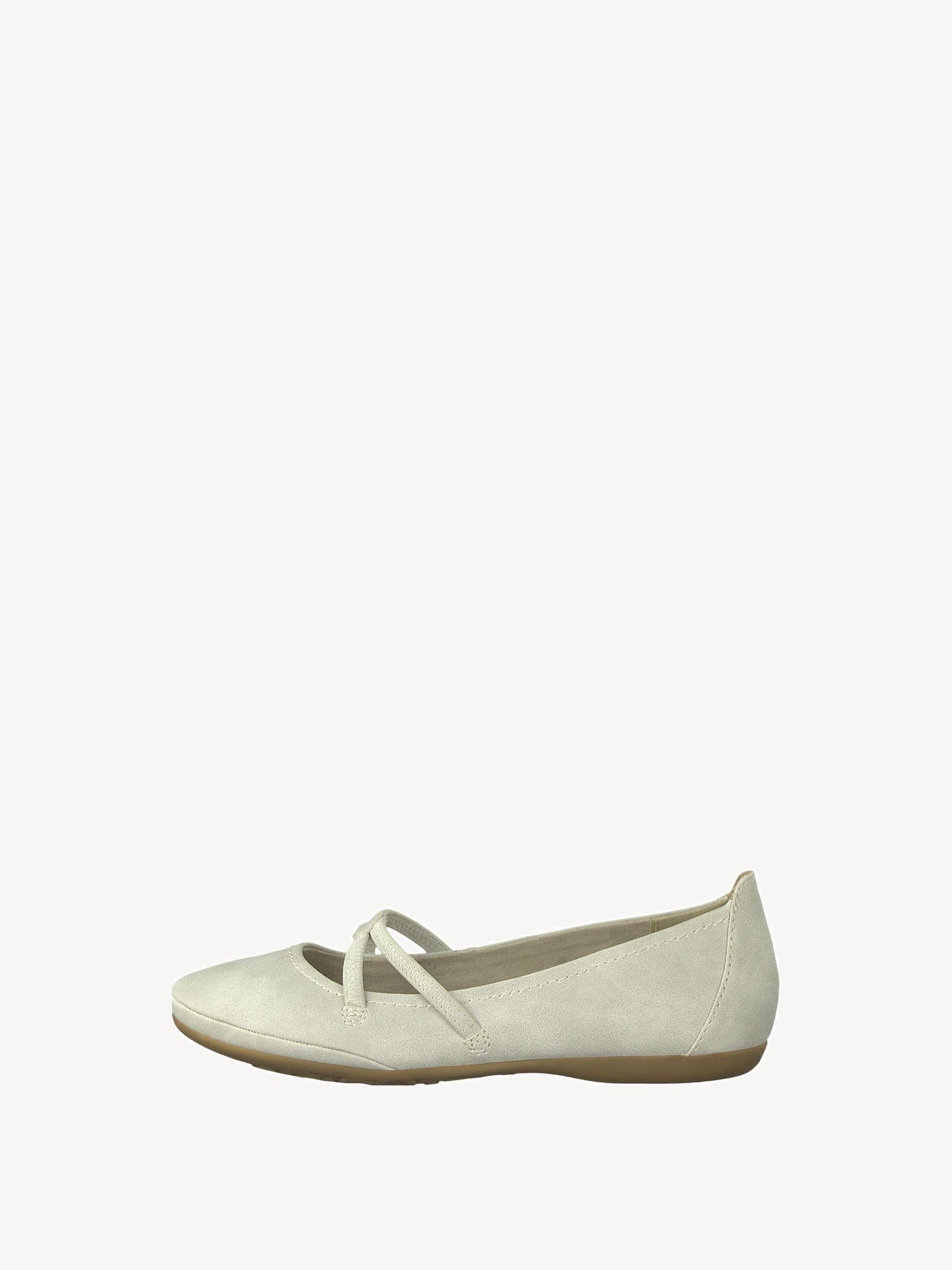 TAMARIS Ballerina Shoes beige
