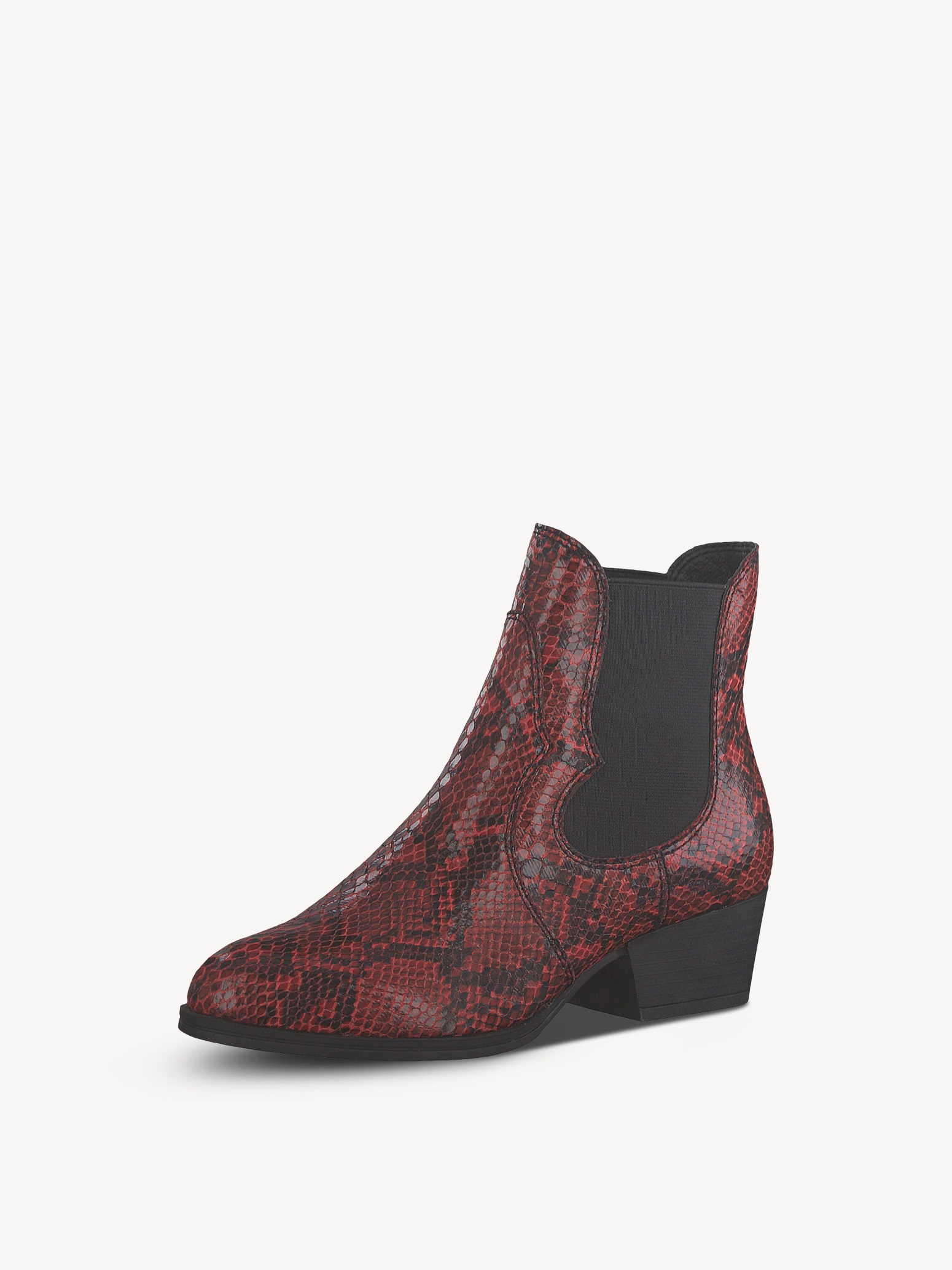 Chelsea Boot - rot, CHILI SNAKE, hi-res