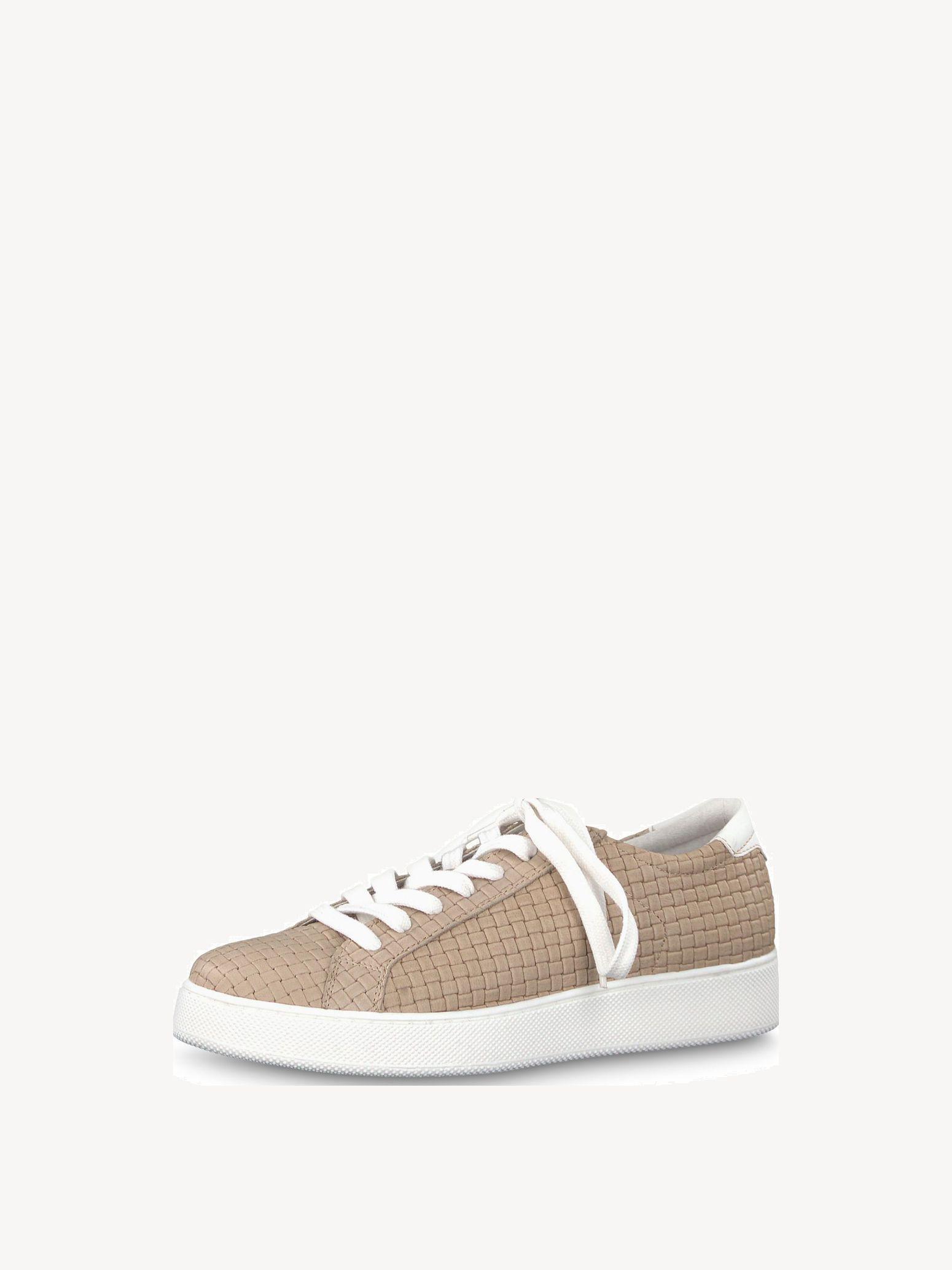 Tamaris Sneaker 23750 197 weiß silber rose Halbschuh Schnür