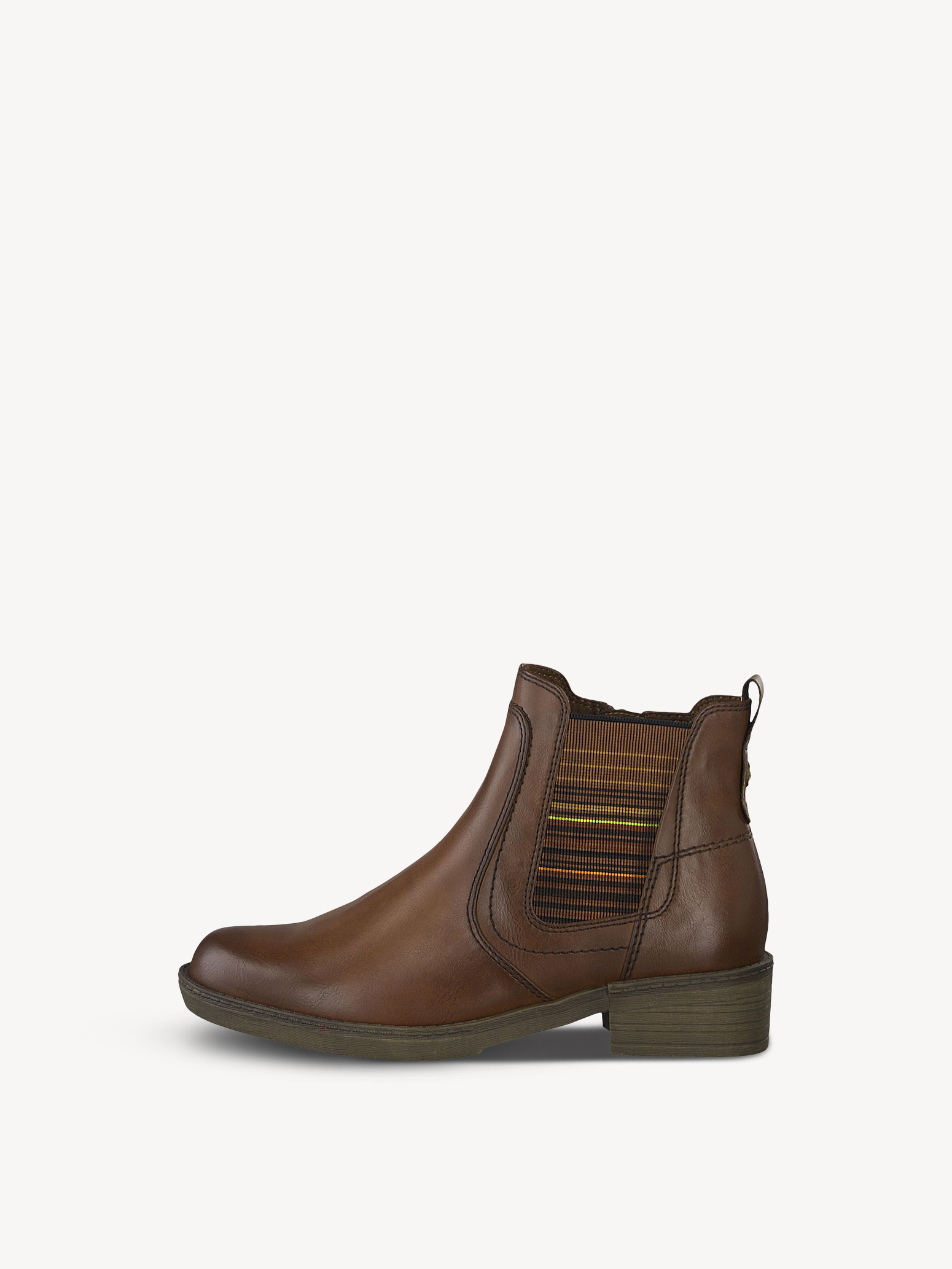 TAMARIS Chelsea Boots in cognac | ABOUT YOU